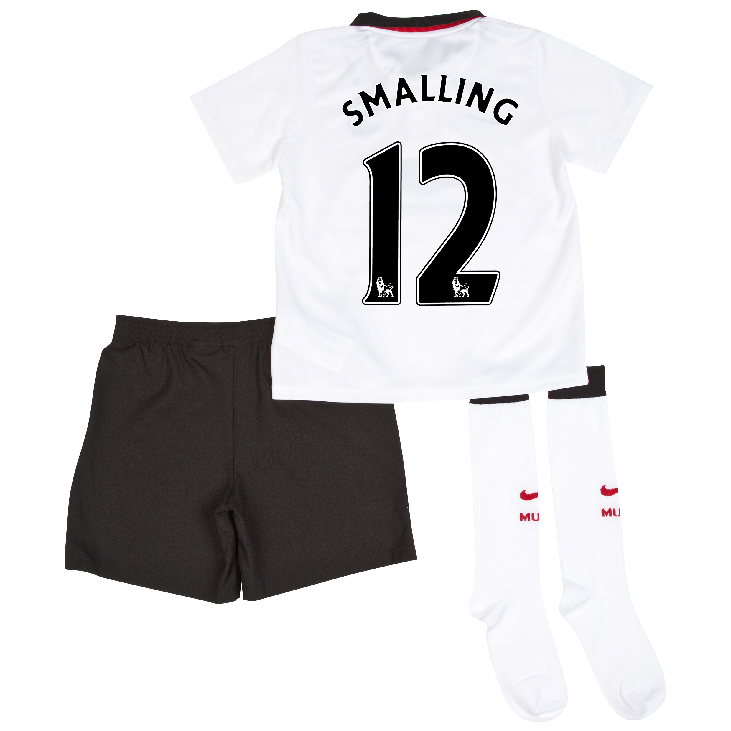 Manchester United Away Kit 2014/15 - Little Boys with Smalling 12 printing