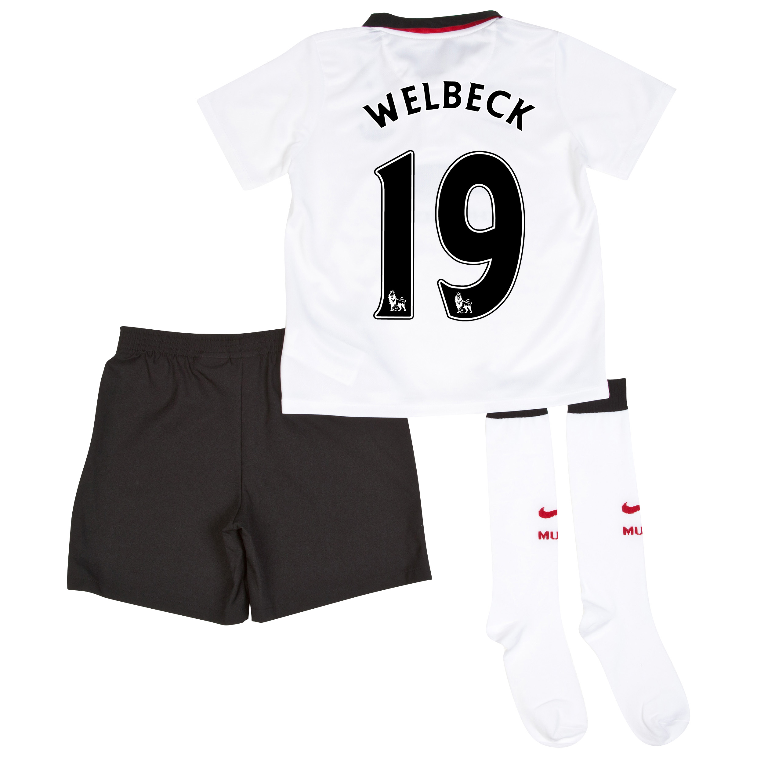Manchester United Away Kit 2014/15 - Little Boys with Welbeck 19 printing