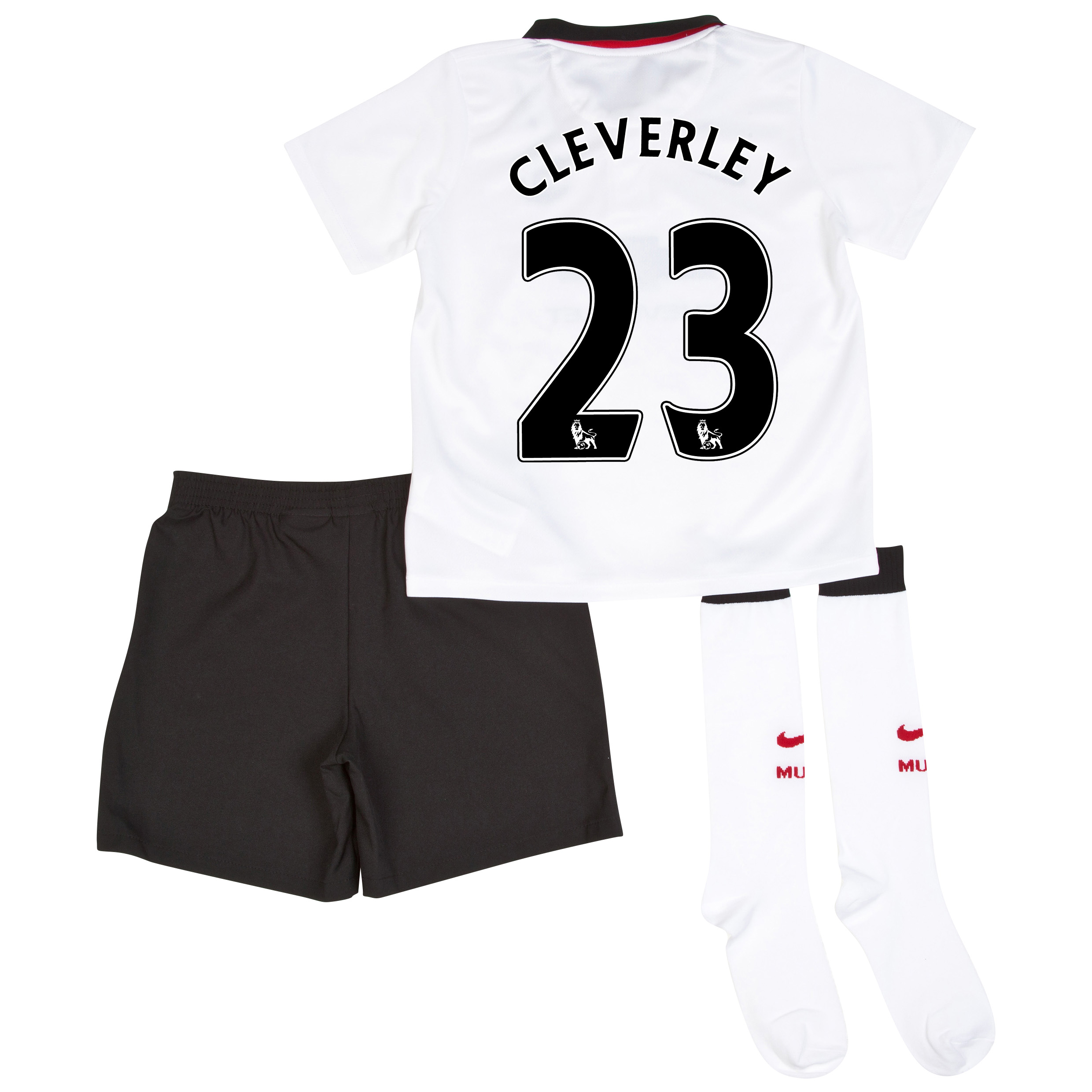 Manchester United Away Kit 2014/15 - Little Boys with Cleverley 23 printing
