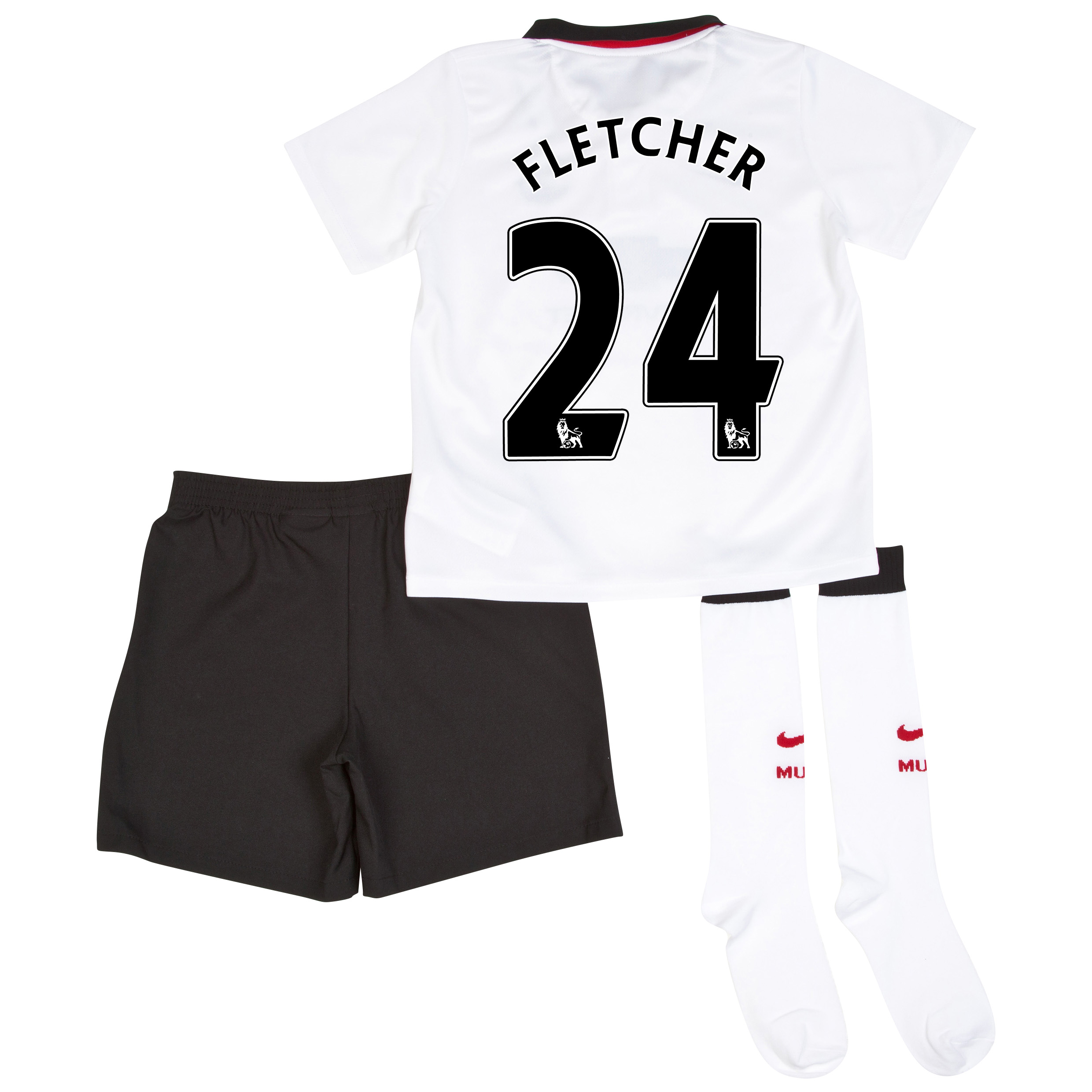 Manchester United Away Kit 2014/15 - Little Boys with Fletcher 24 printing