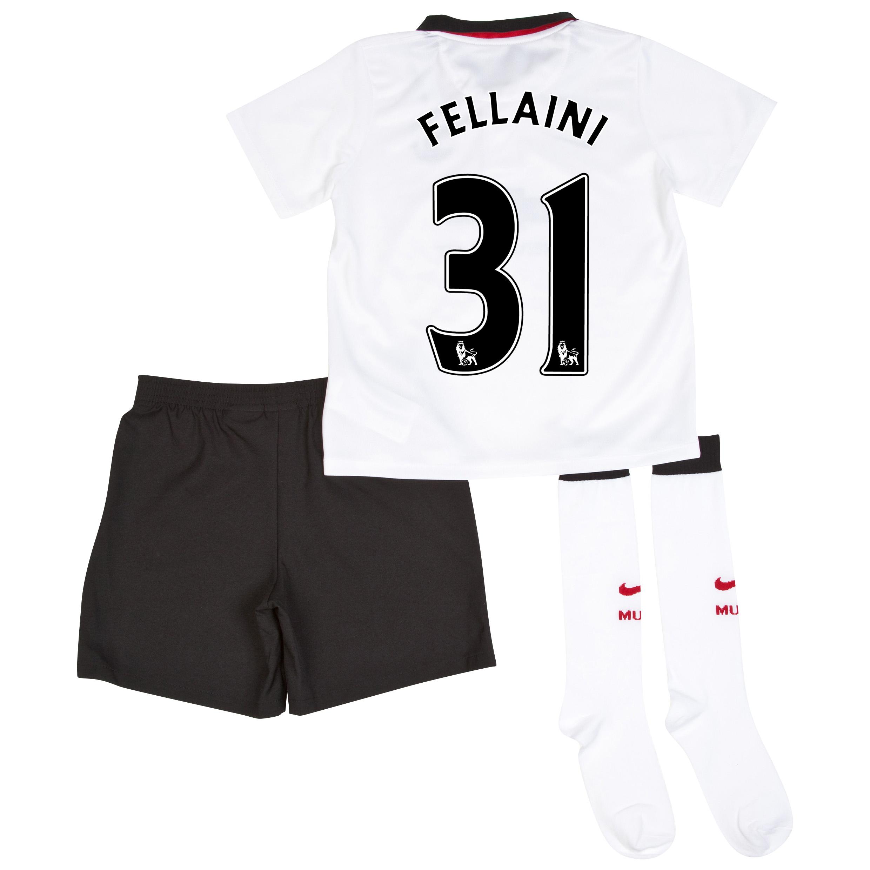 Manchester United Away Kit 2014/15 - Little Boys with Fellaini 31 printing