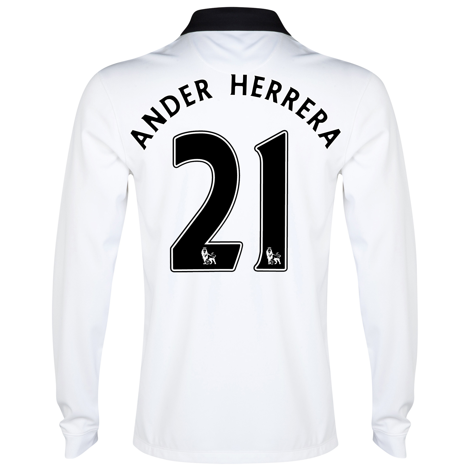 Manchester United Away Shirt 2014/15 - Long Sleeve - Kids with Herrera TBC printing