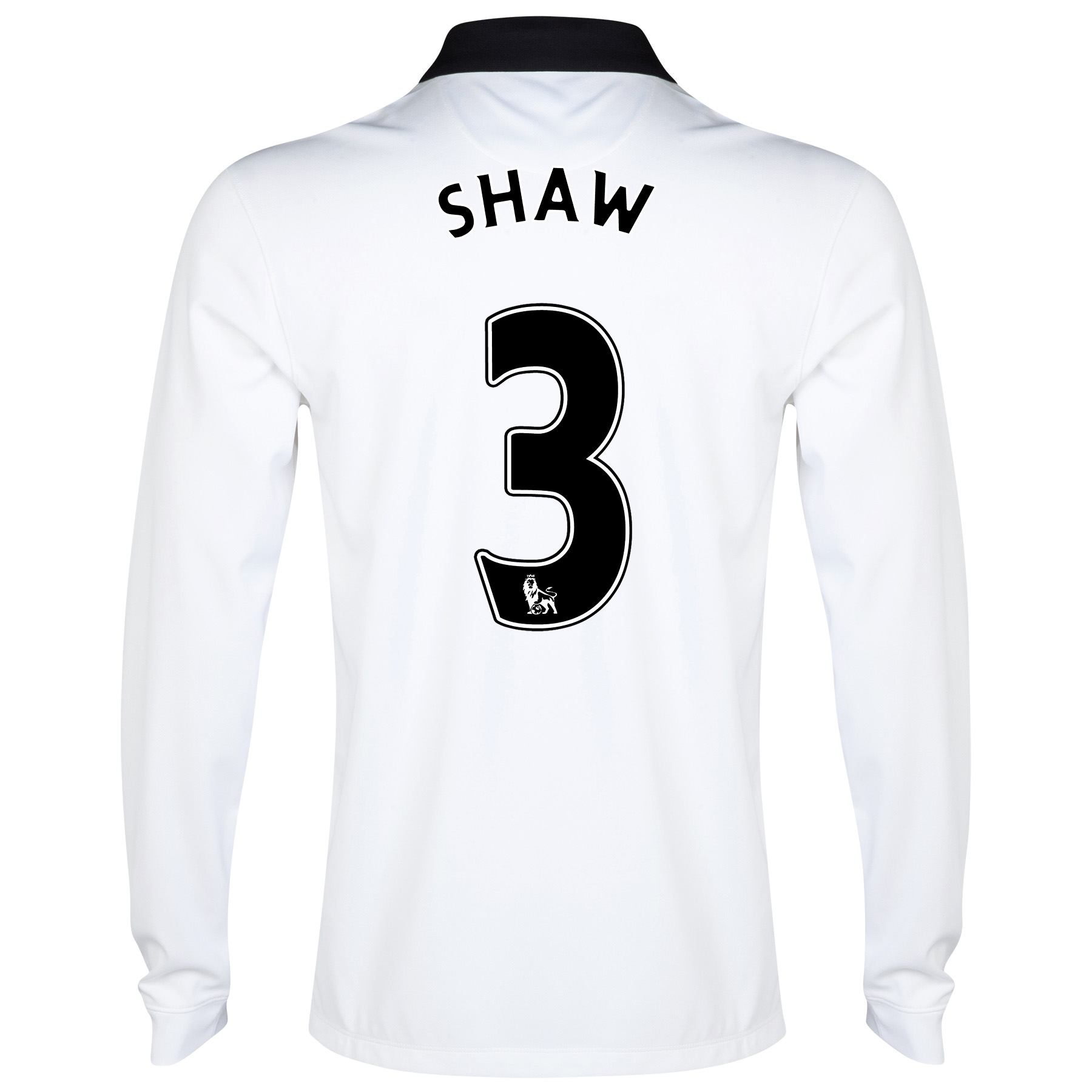 Manchester United Away Shirt 2014/15 - Long Sleeve - Kids with Shaw TBC printing