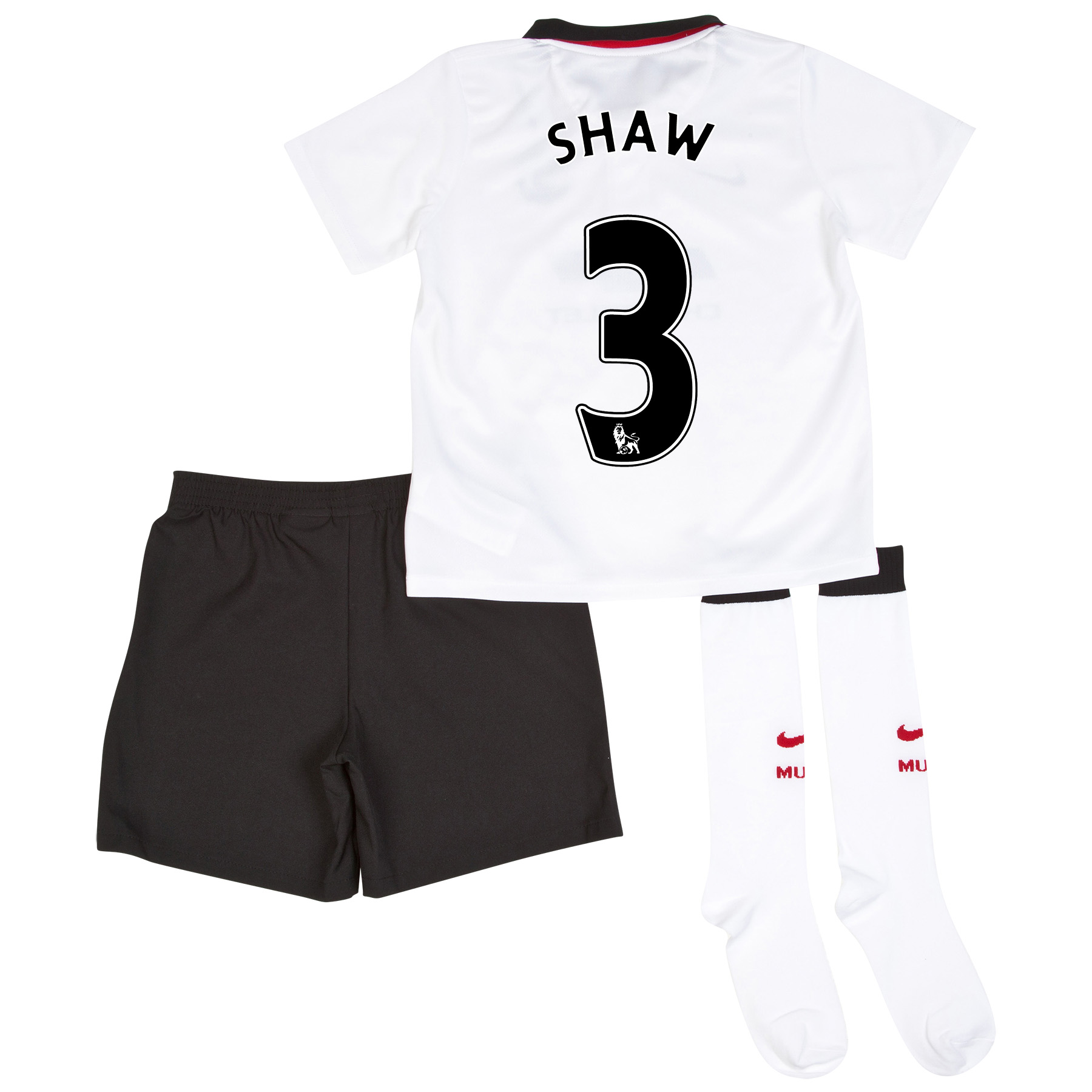 Manchester United Away Kit 2014/15 - Little Boys with Shaw TBC printing