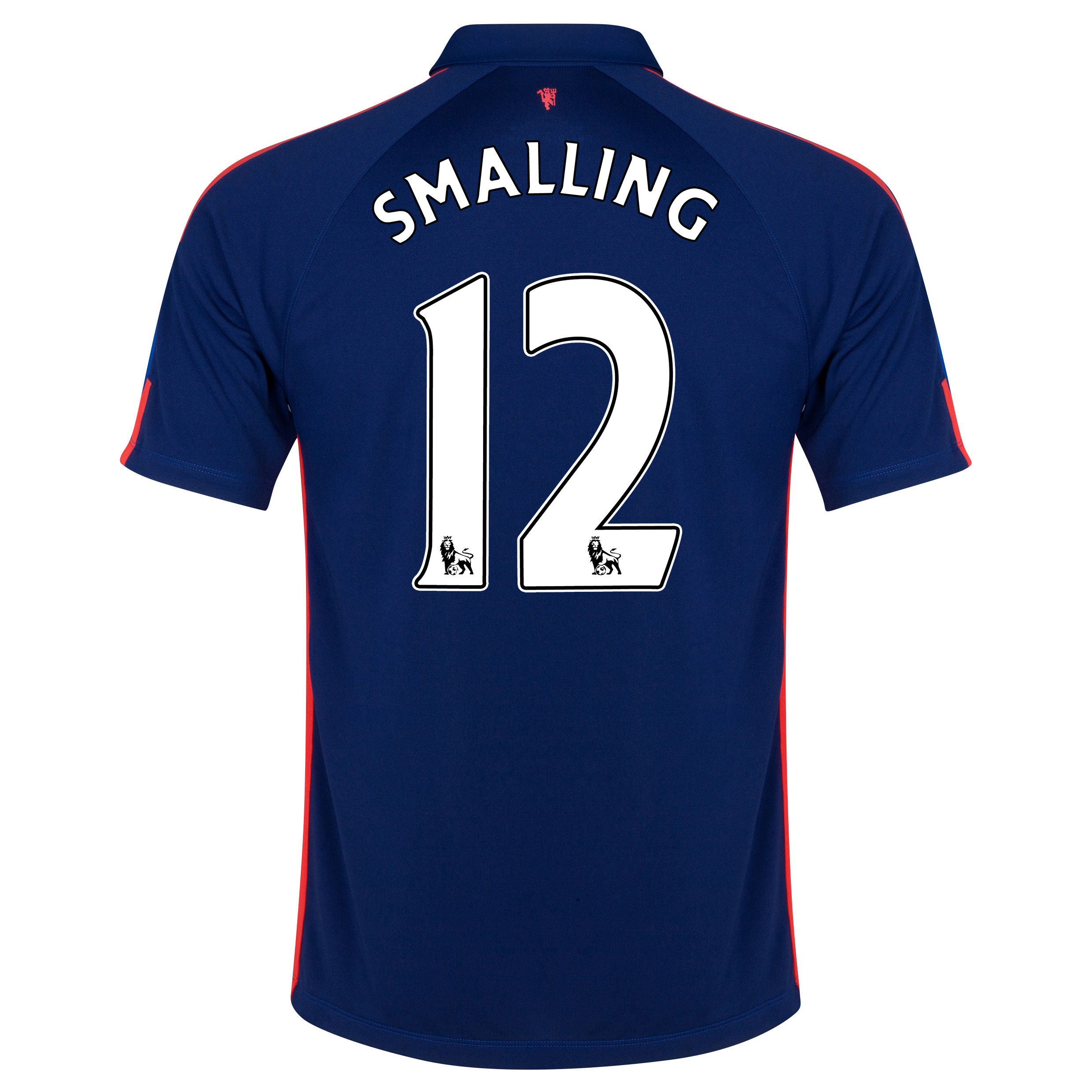 Manchester United Third Shirt 2014/15 with Smalling 12 printing