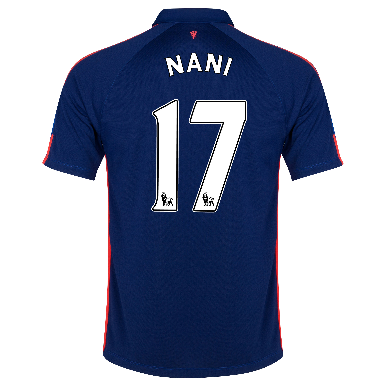 Manchester United Third Shirt 2014/15 with Nani 17 printing