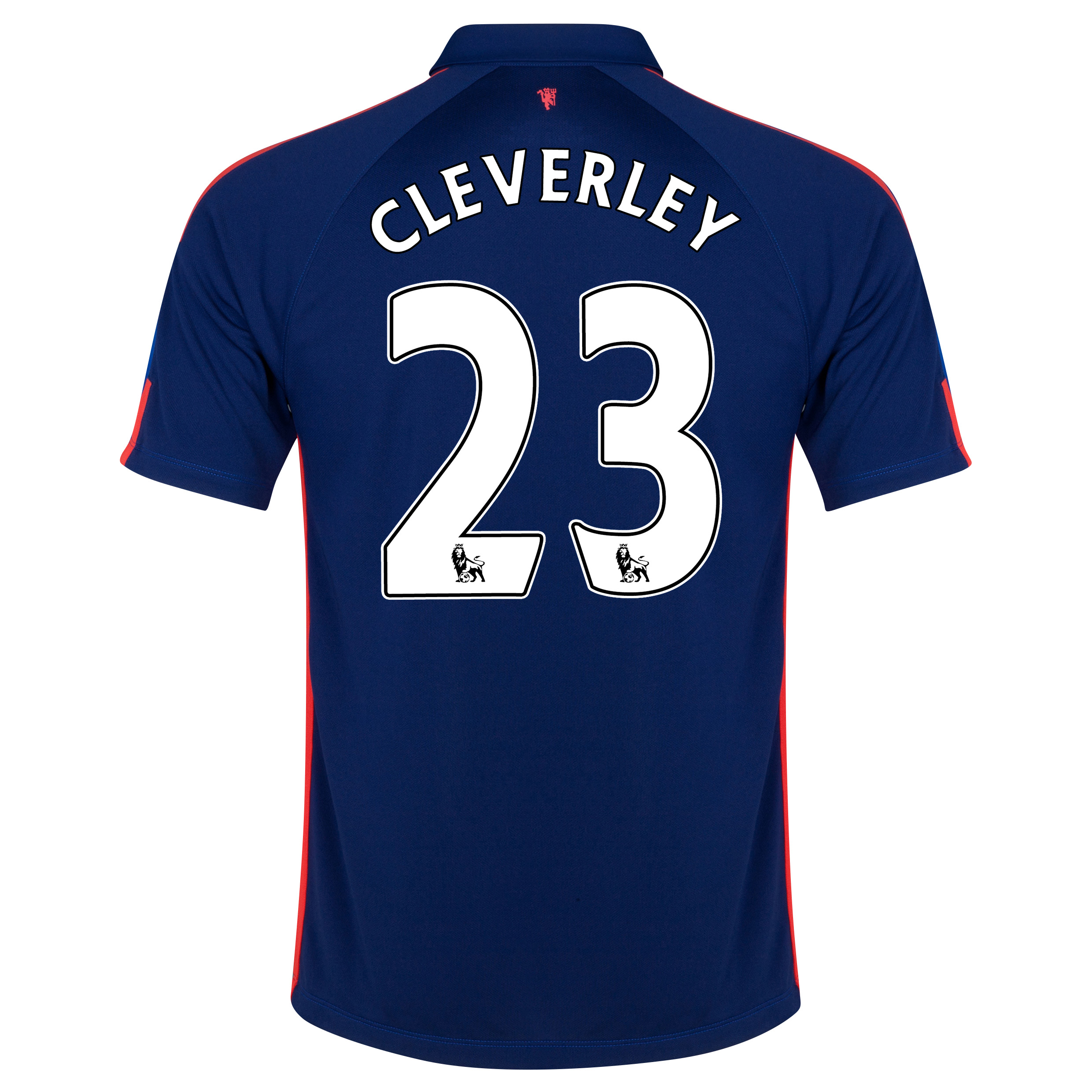 Manchester United Third Shirt 2014/15 with Cleverley 23 printing