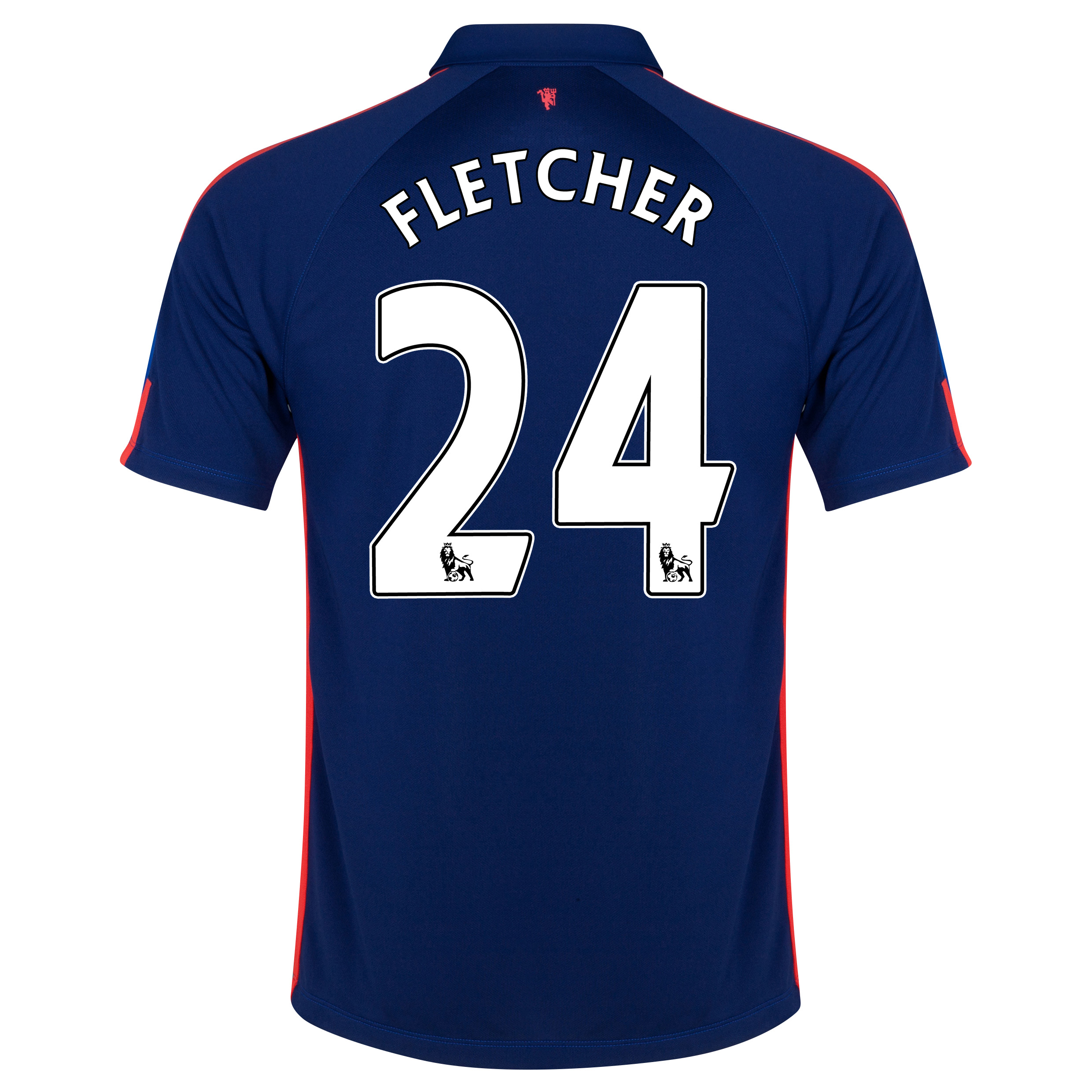 Manchester United Third Shirt 2014/15 with Fletcher 24 printing