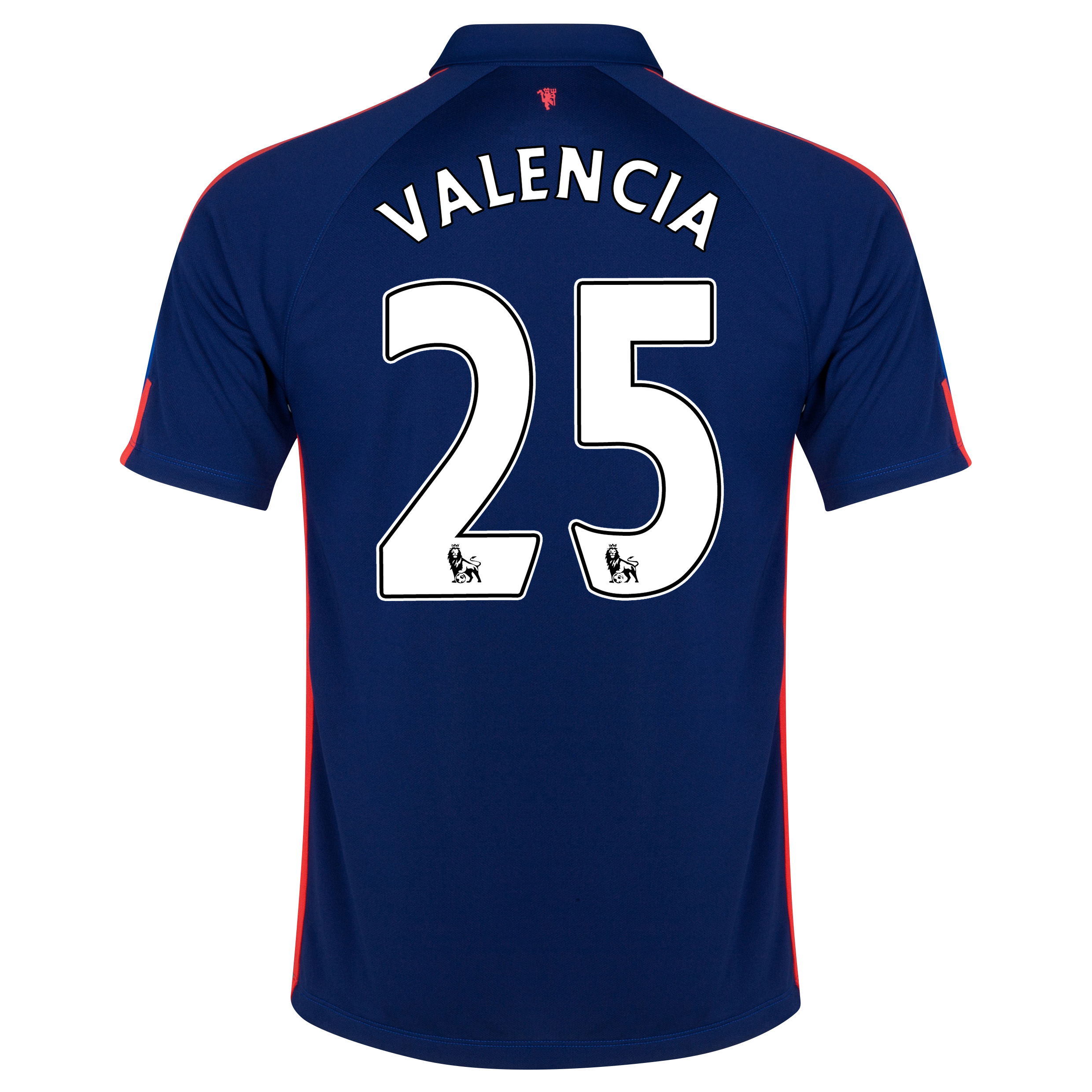 Manchester United Third Shirt 2014/15 with Valencia 25 printing