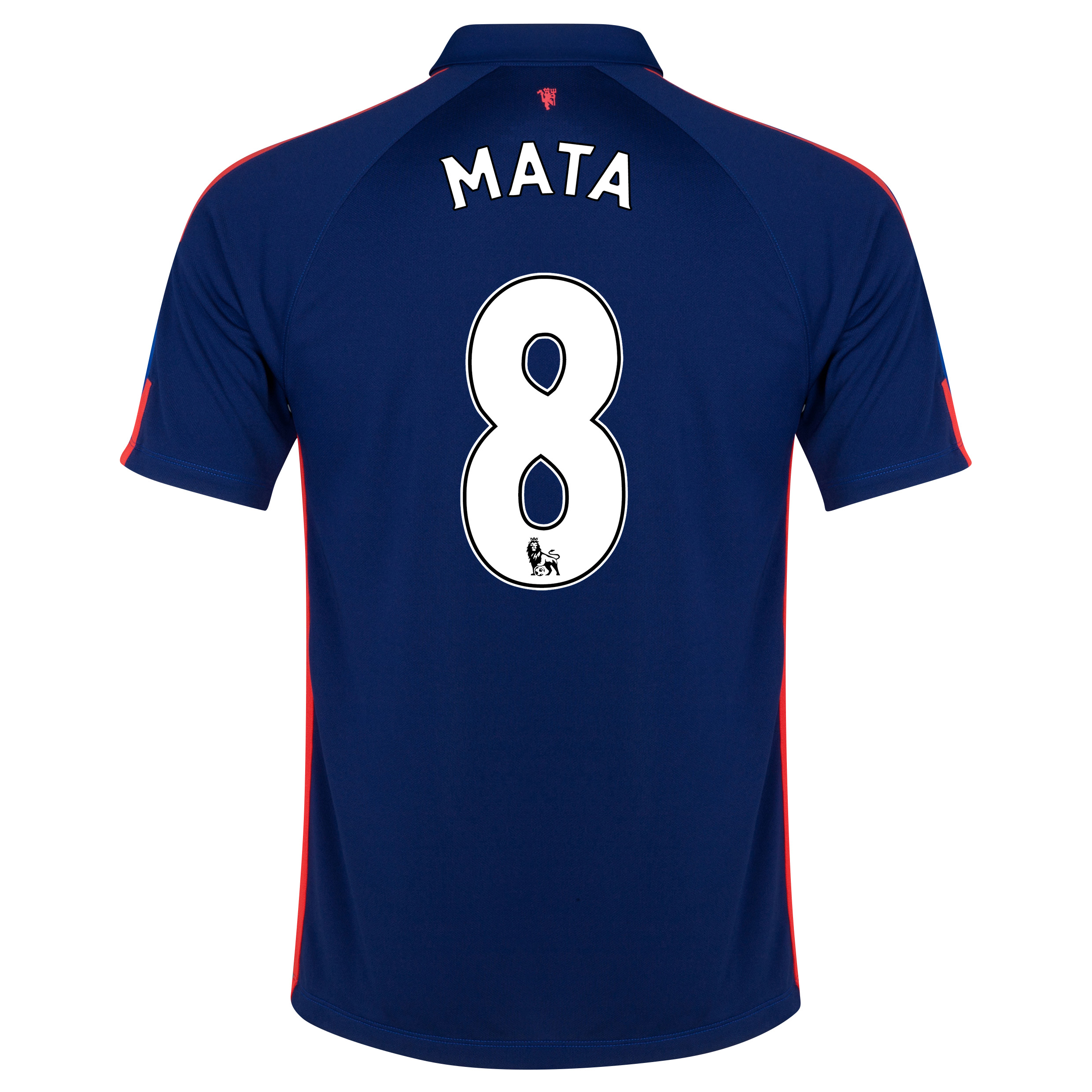 Manchester United Third Shirt 2014/15 - Kids with Mata 8 printing