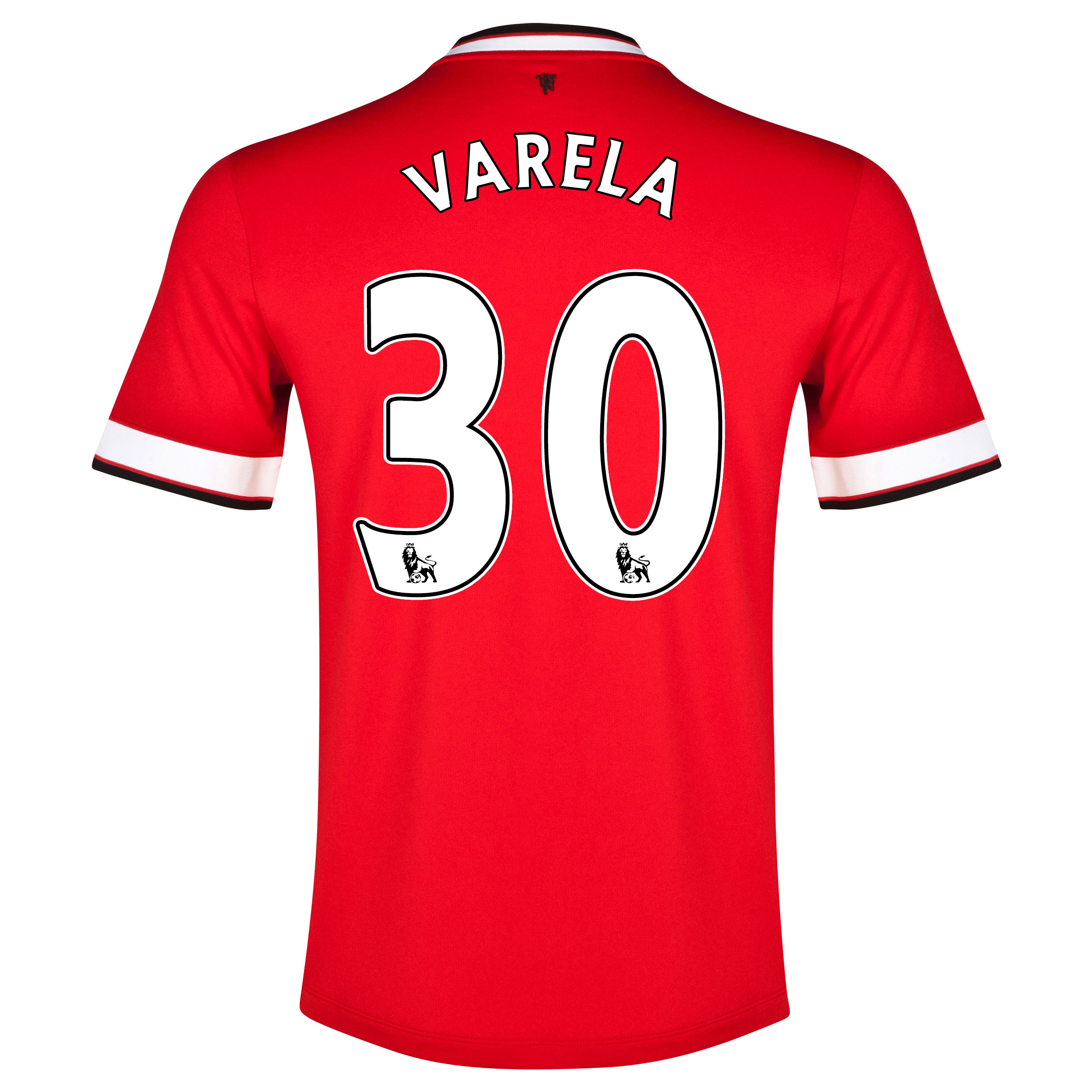 Manchester United Home Shirt 2014/15 with Varela 30 printing