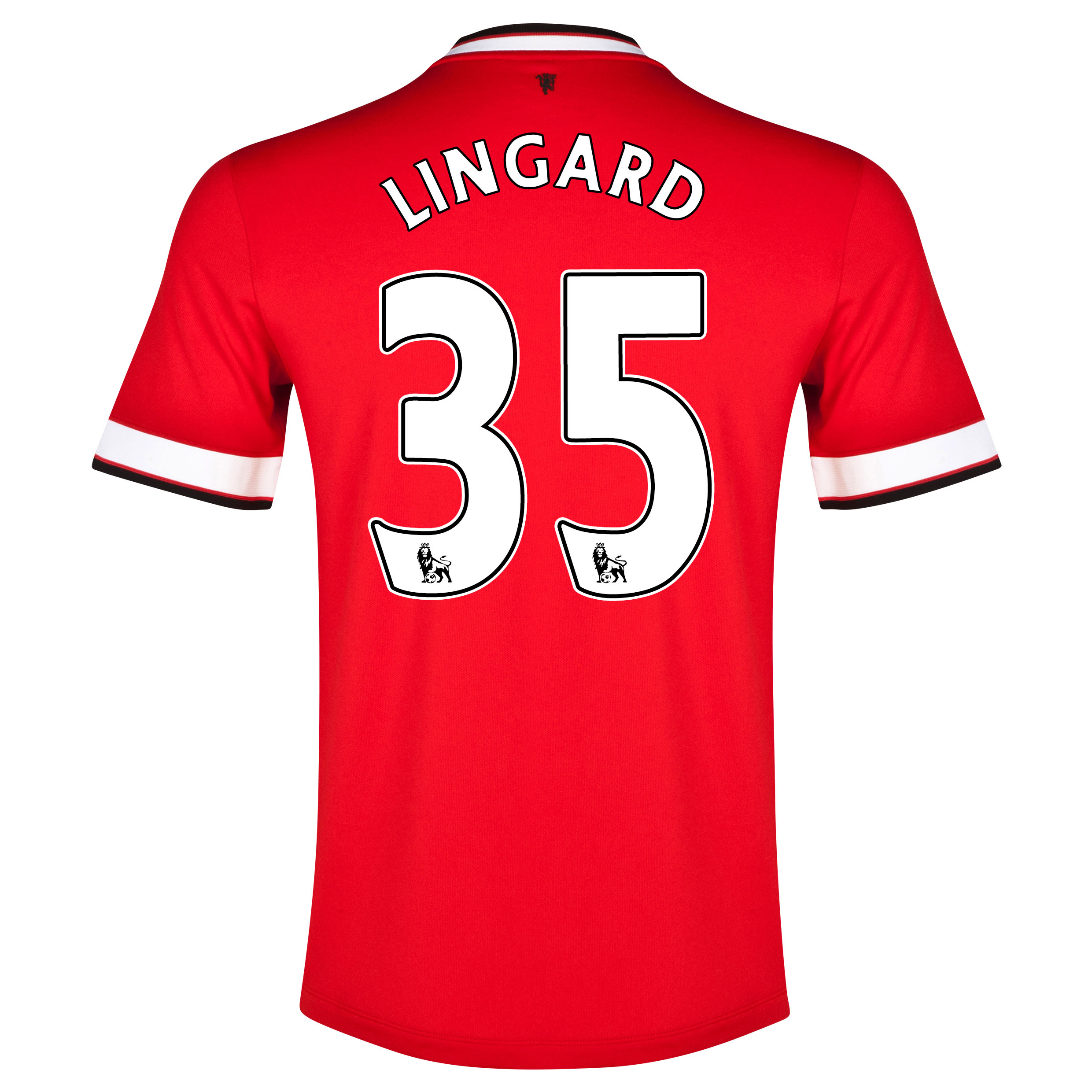 Manchester United Home Shirt 2014/15 with Lingard 35 printing