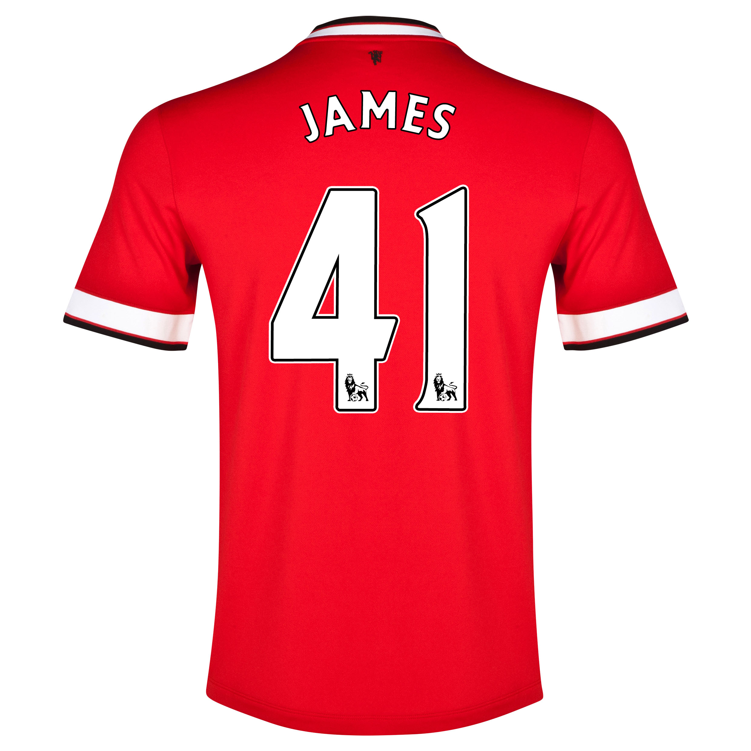 Manchester United Home Shirt 2014/15 with James 41 printing