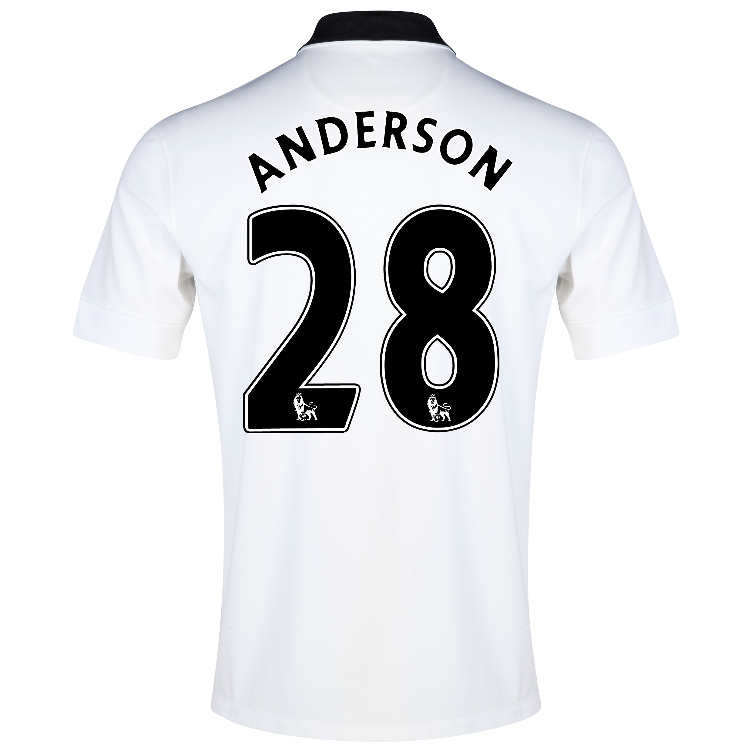 Manchester United Away Shirt 2014/15 with Anderson 28 printing