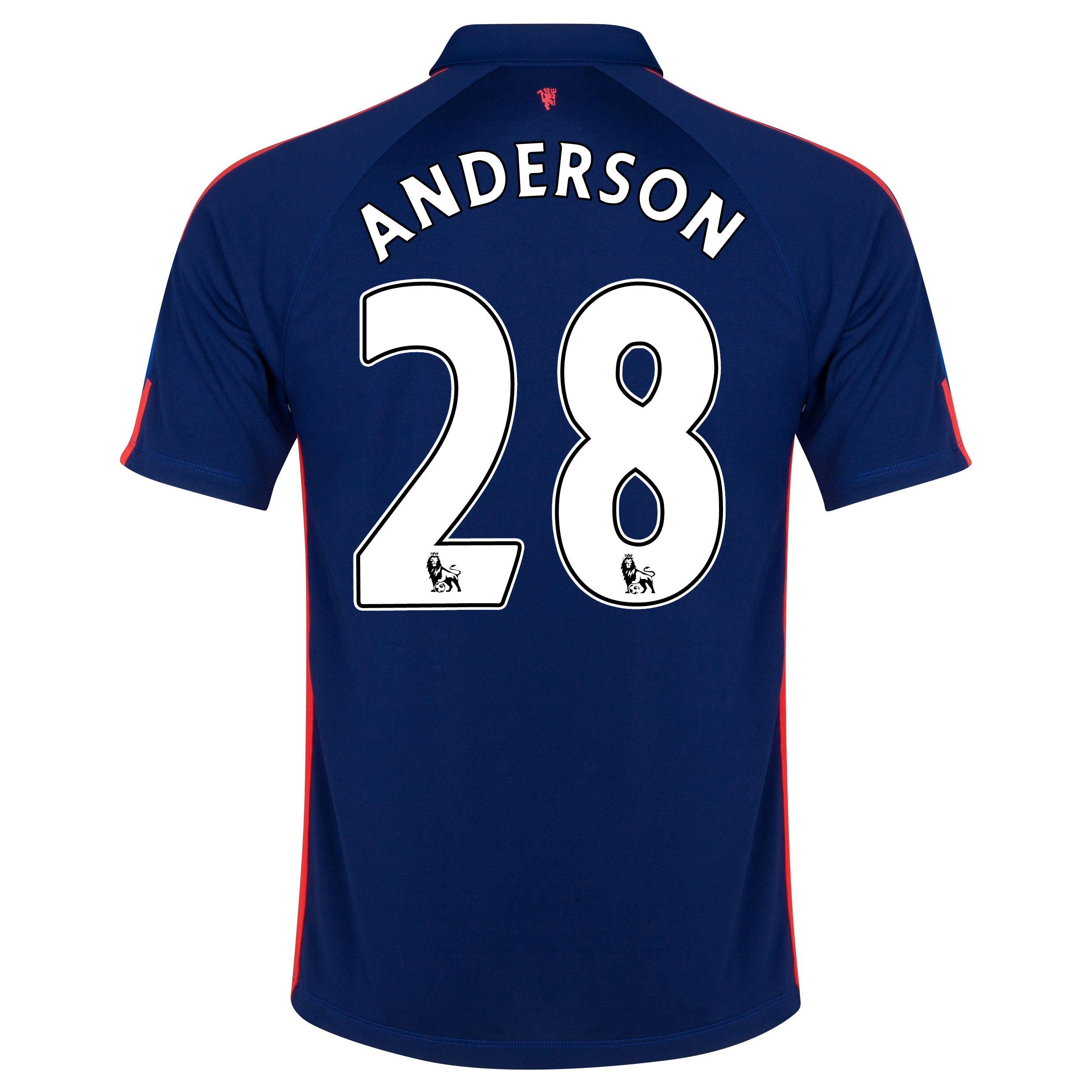Manchester United Third Shirt 2014/15 with Anderson 28 printing