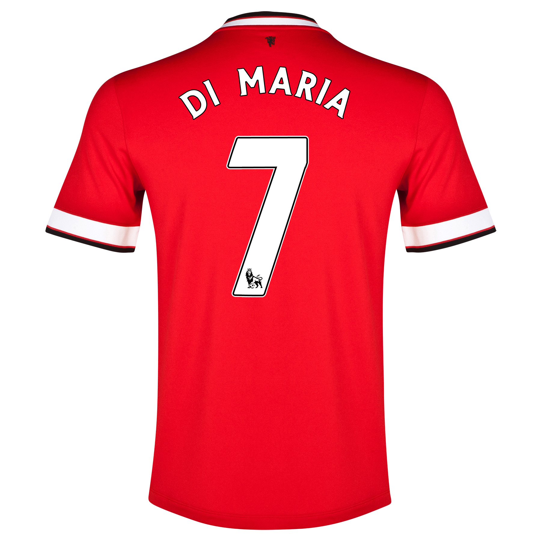 Manchester United Home Shirt 2014/15 - Kids with Di Maria 7 printing