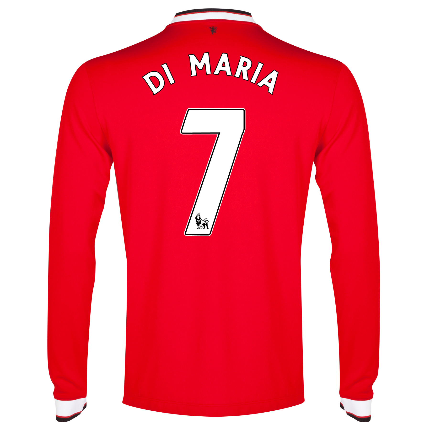 Manchester United Home Shirt 2014/15 - Long Sleeve - Kids with Di Maria 7 printing