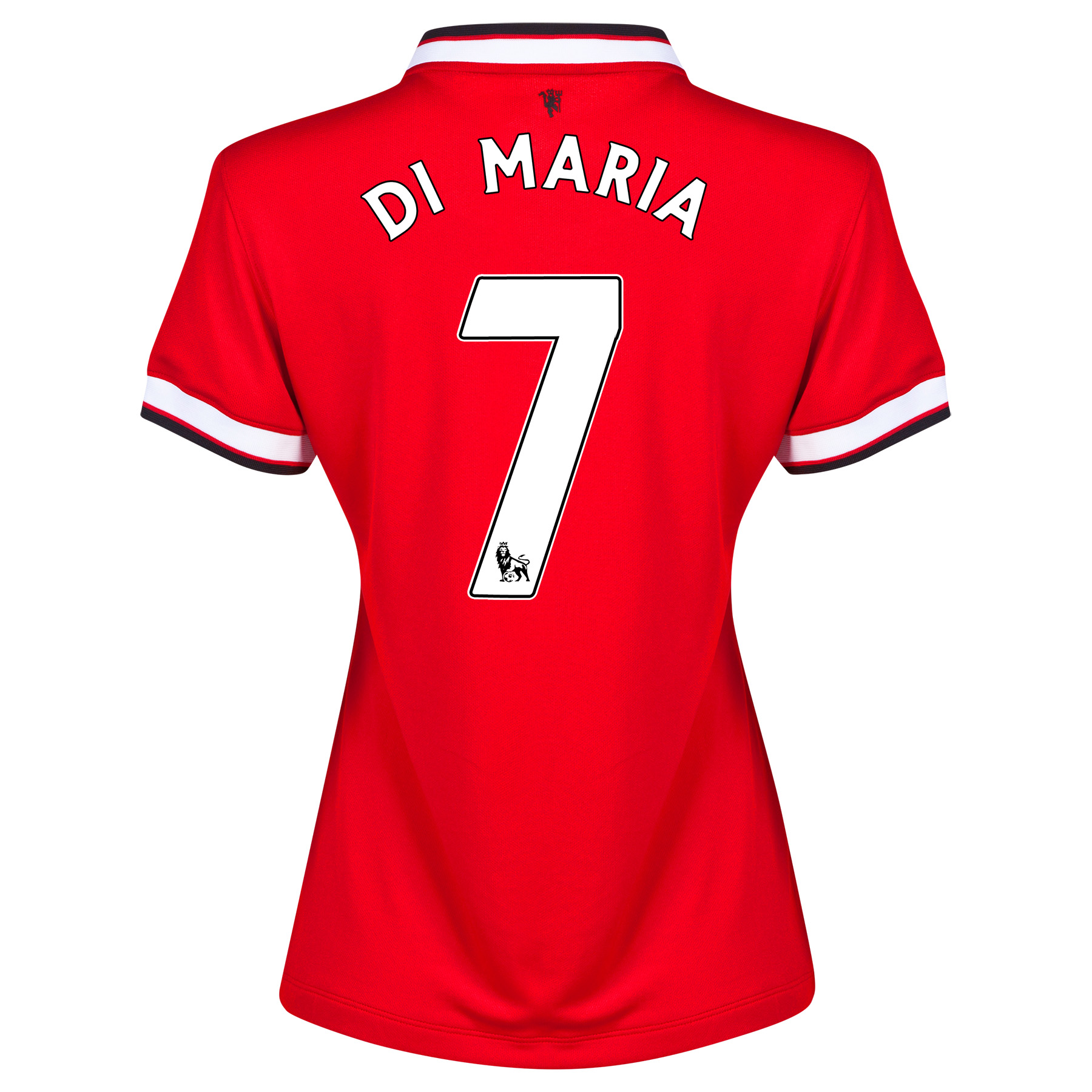 Manchester United Home Shirt 2014/15 - Womens with Di Maria 7 printing