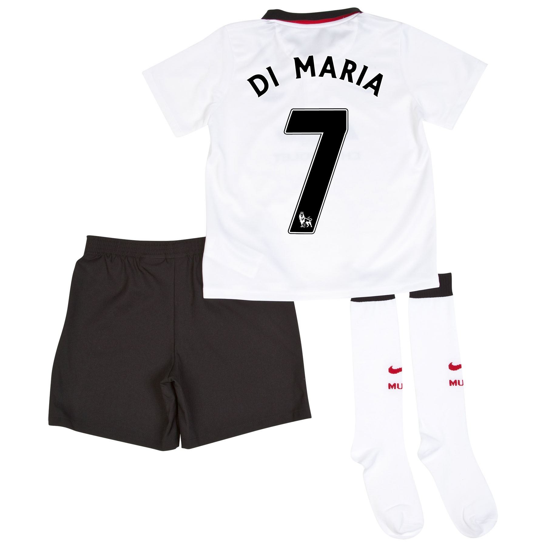 Manchester United Away Kit 2014/15 - Little Boys with Di Maria 7 printing
