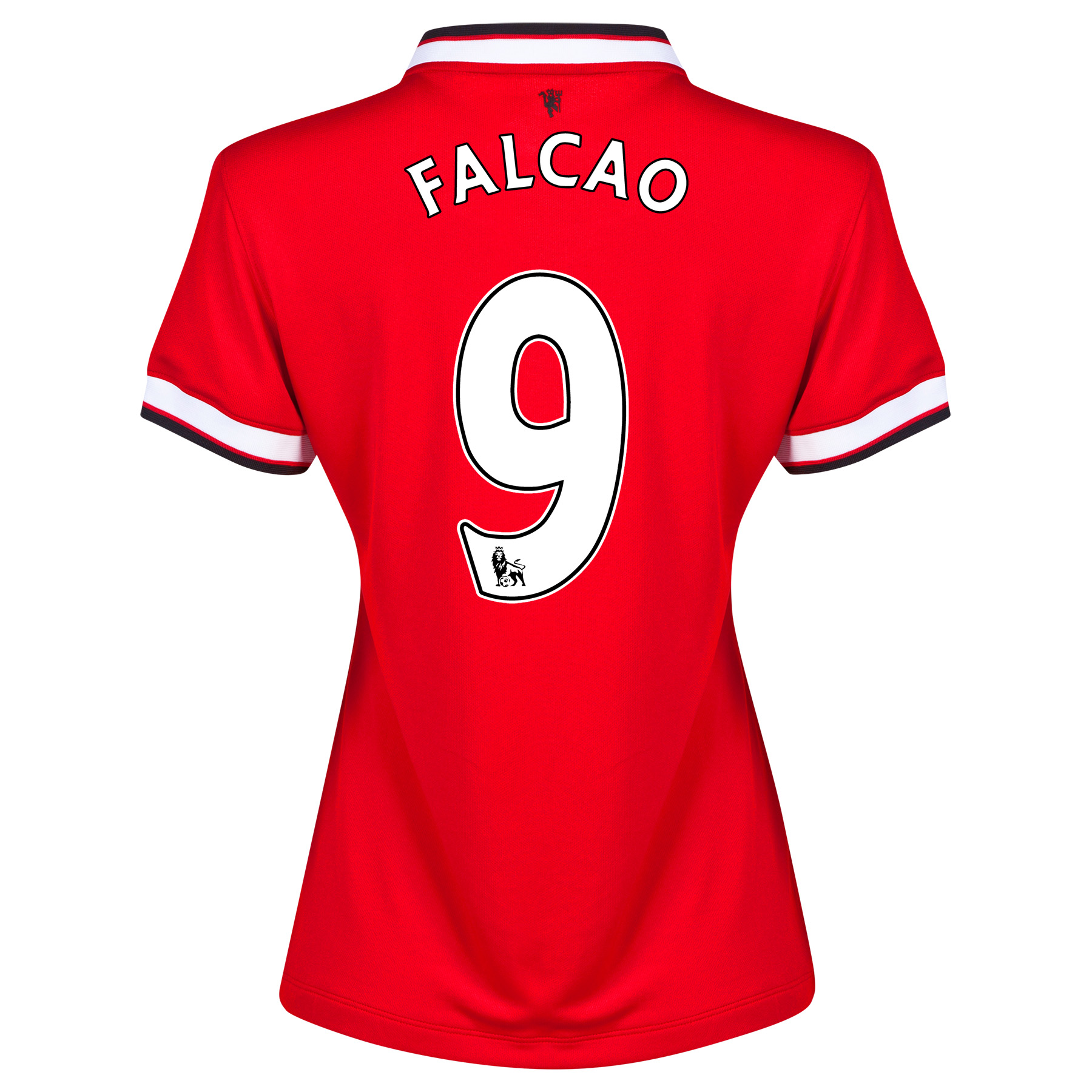 Manchester United Home Shirt 2014/15 - Womens with Falcao 9 printing