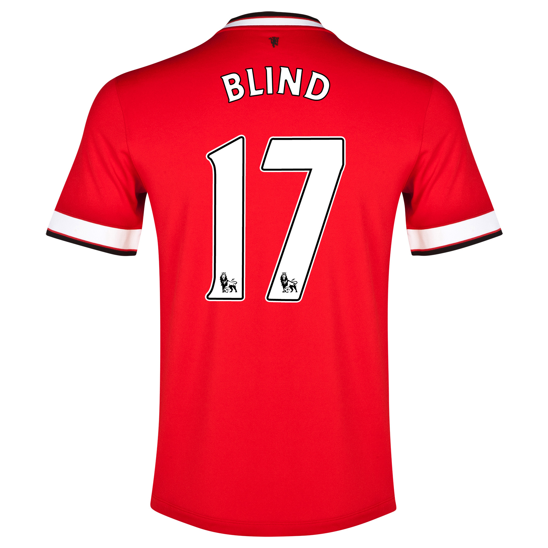 Manchester United Home Shirt 2014/15 - Kids with Blind 17 printing
