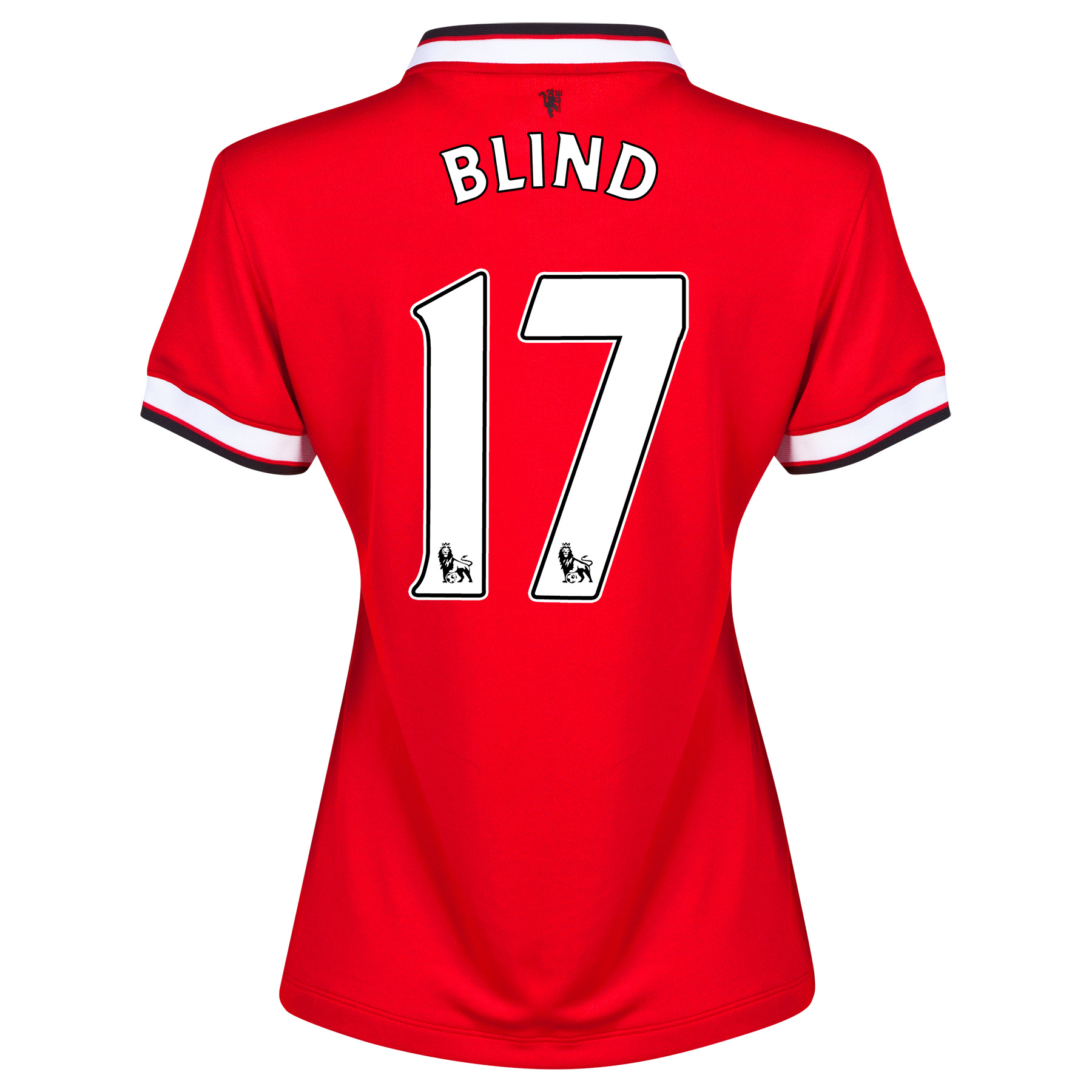 Manchester United Home Shirt 2014/15 - Womens with Blind 17 printing