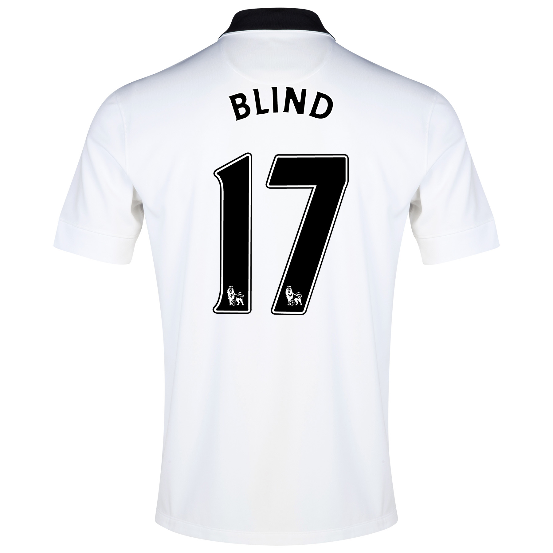 Manchester United Away Shirt 2014/15 - Kids with Blind 17 printing