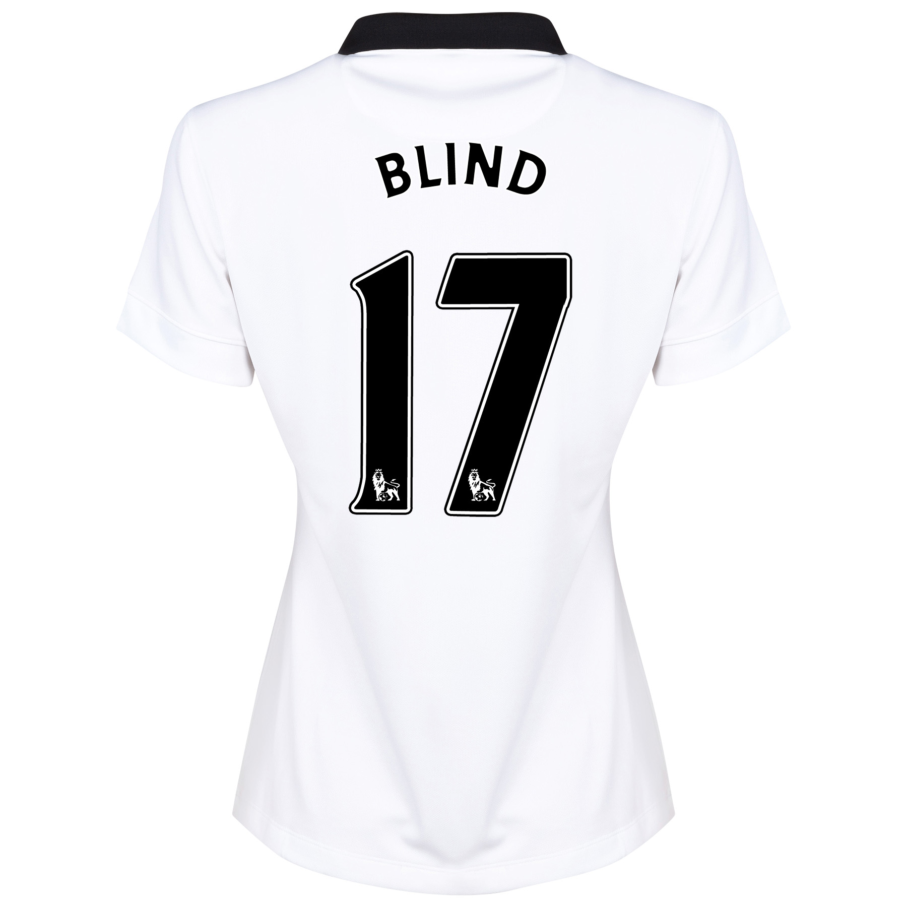 Manchester United Away Shirt 2014/15 - Womens with Blind 17 printing