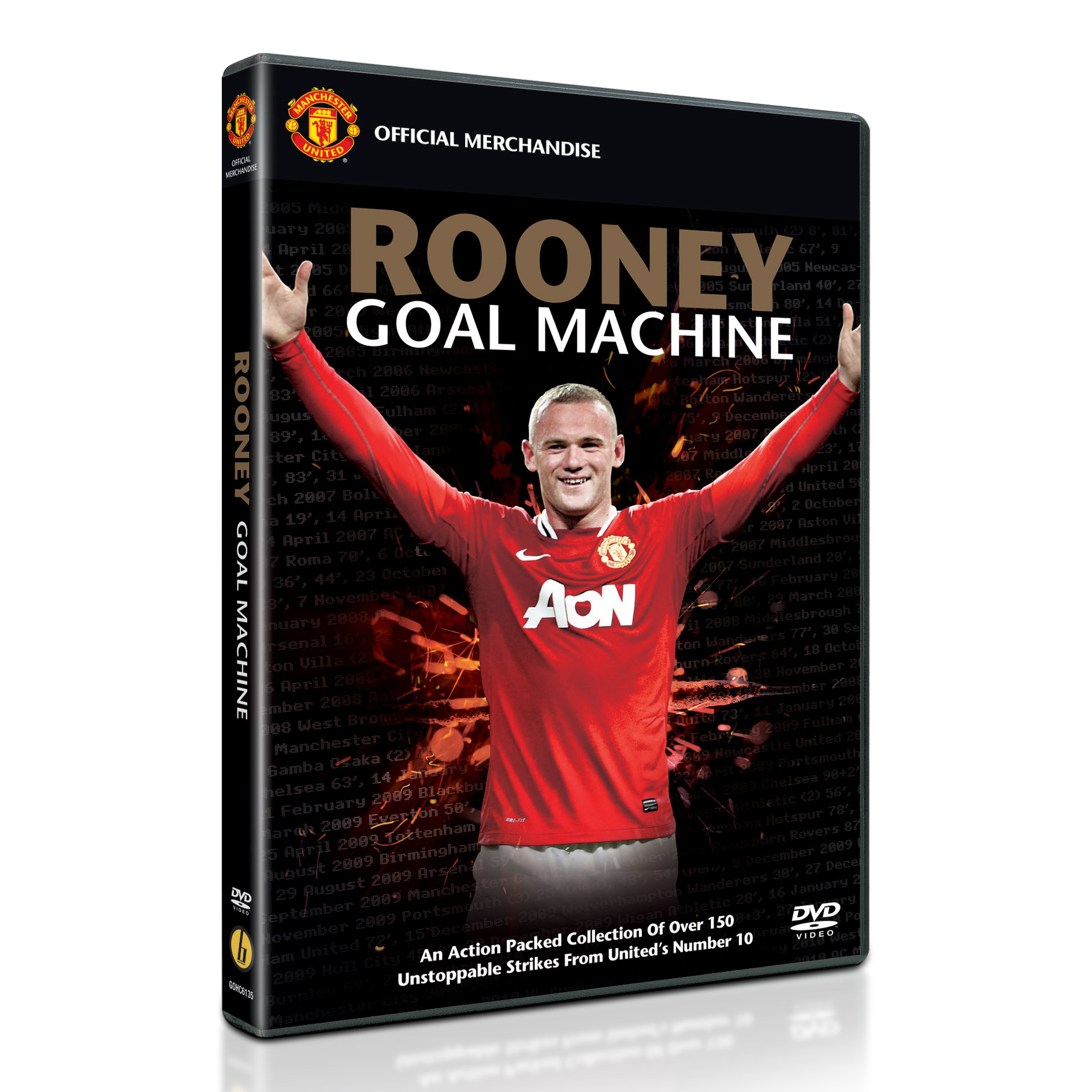 Manchester United Rooney Goal Machine - DVD - PAL