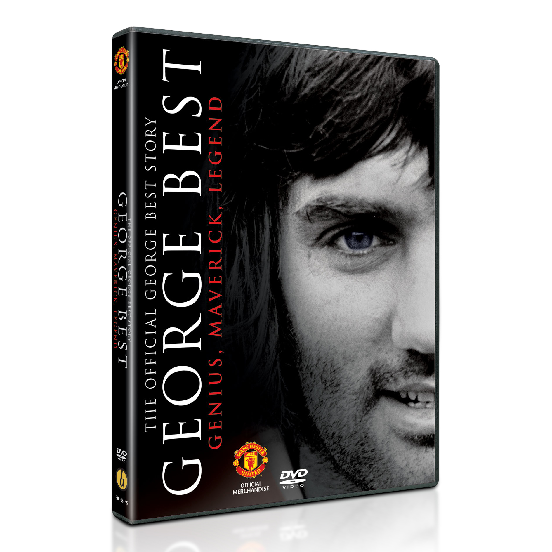 Manchester United The Official George Best Story - DVD - PAL