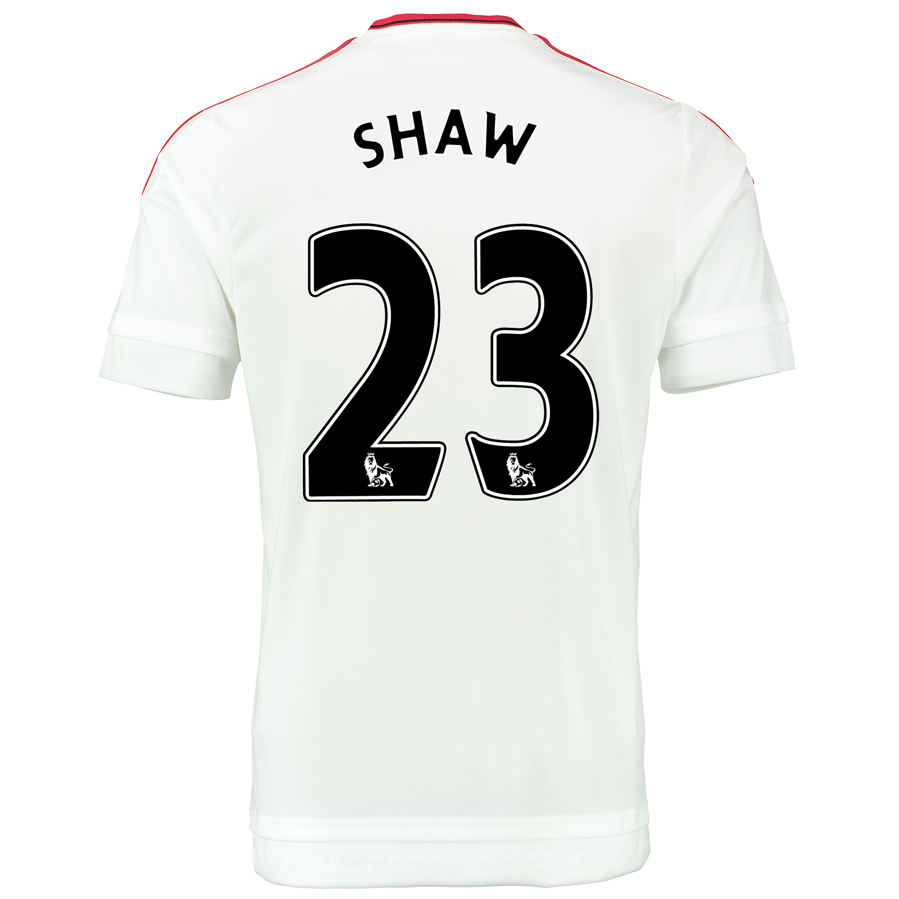 Manchester United Away Baby Kit 2015/16 White with Shaw 23 printing