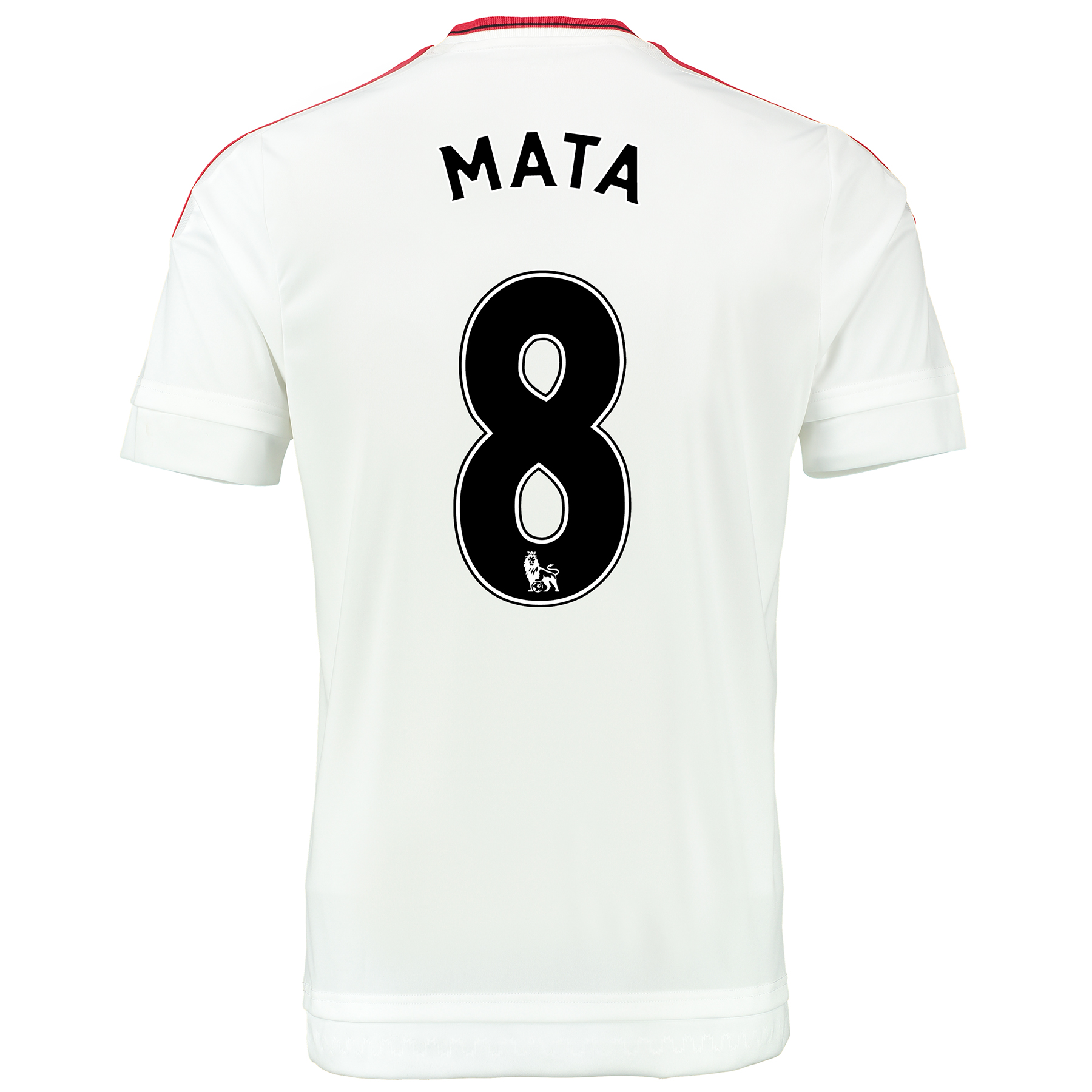 Manchester United Away Baby Kit 2015/16 White with Mata 8 printing