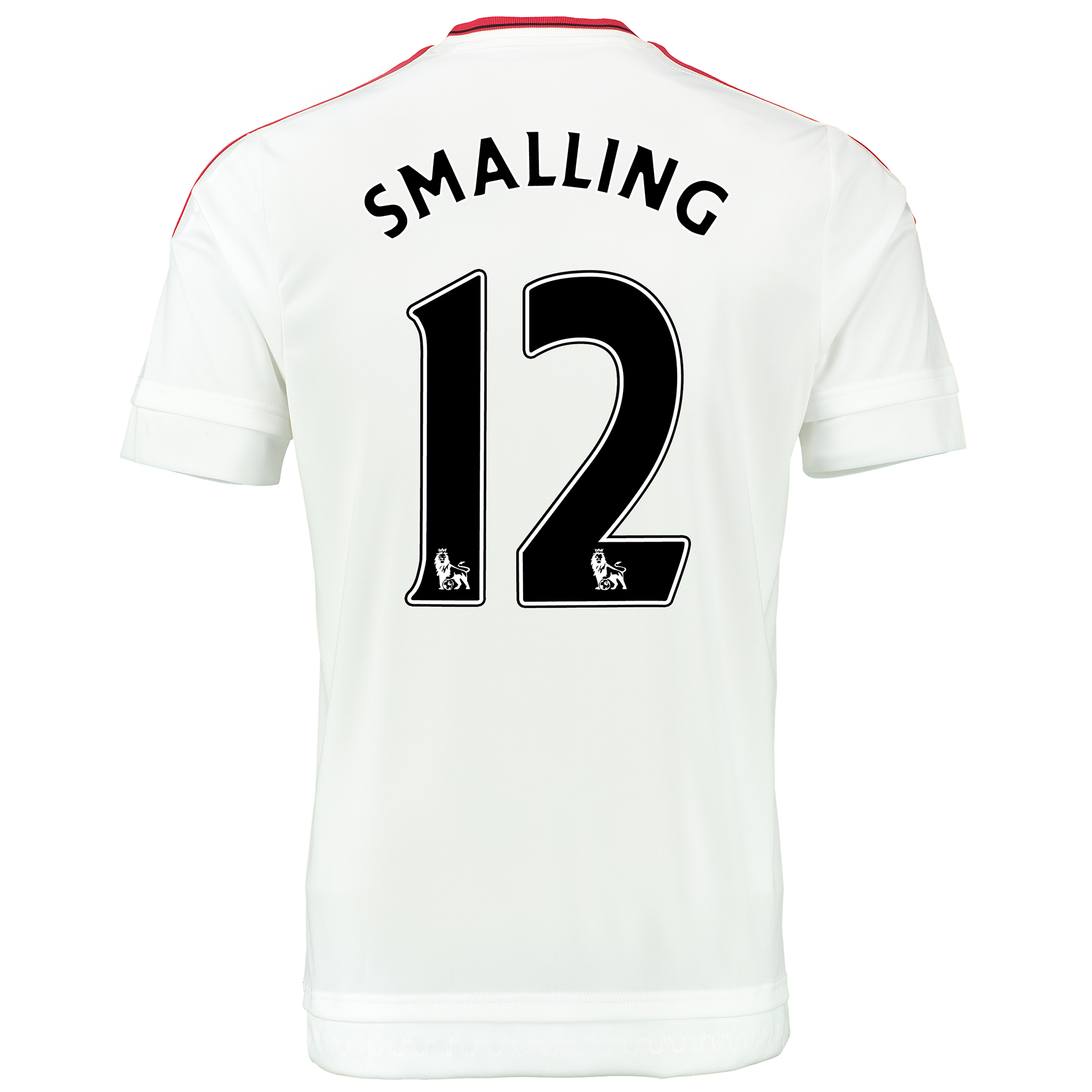 Manchester United Away Baby Kit 2015/16 White with Smalling 12 printin