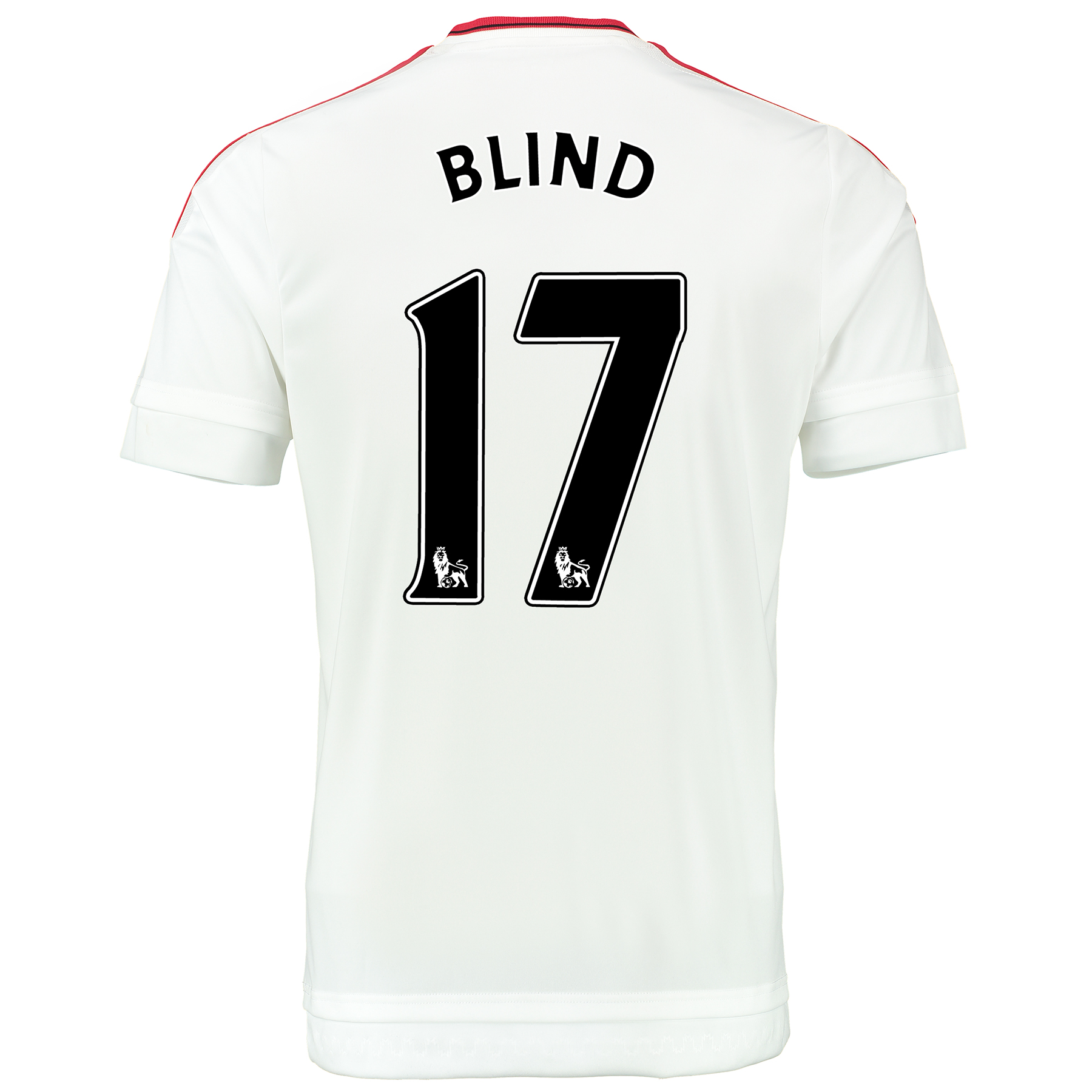 Manchester United Away Baby Kit 2015/16 White with Blind 17 printing