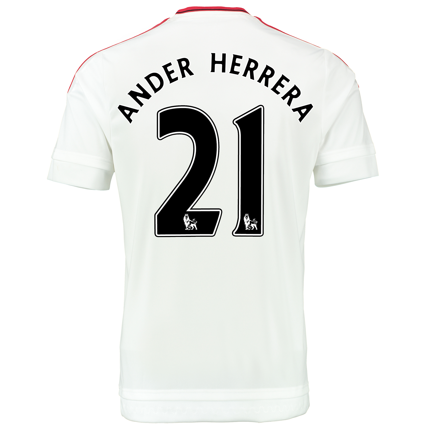 Manchester United Away Baby Kit 2015/16 White with Ander Herrera 21 pr