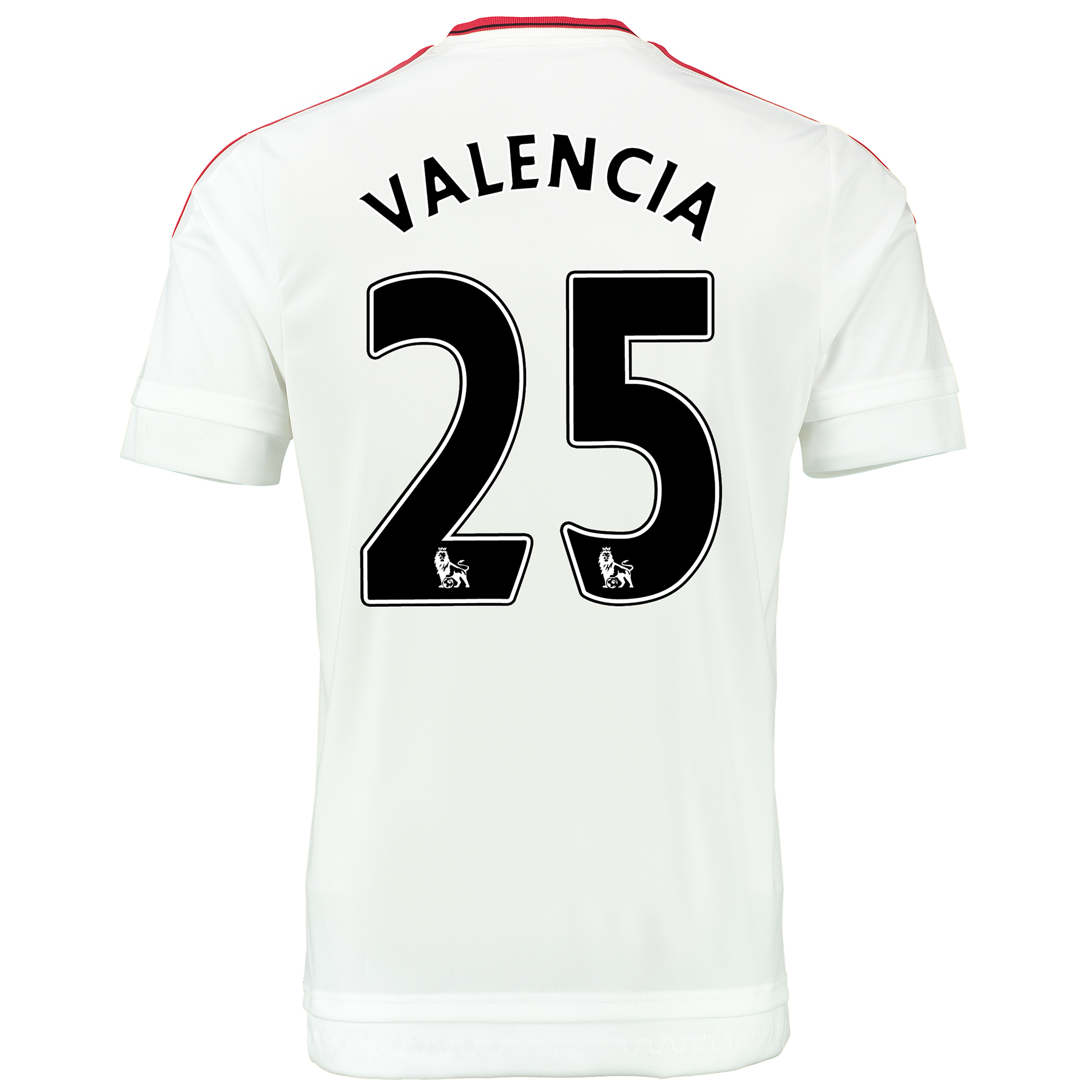 Manchester United Away Baby Kit 2015/16 White with Valencia 25 printin