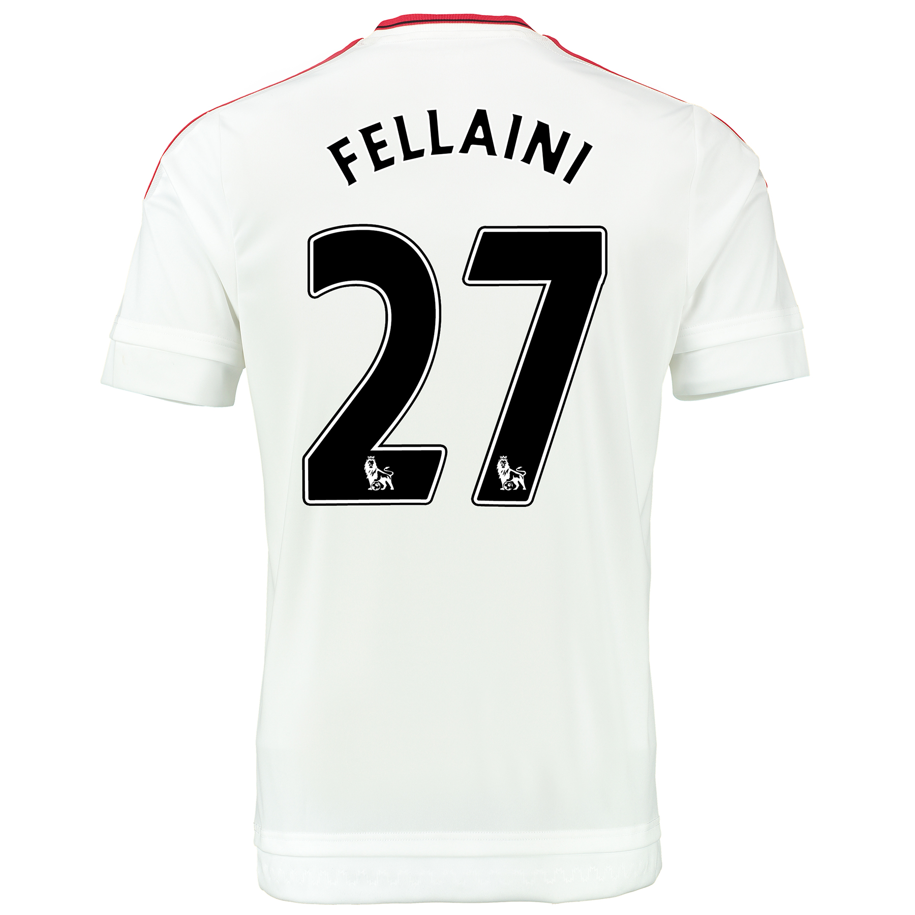Manchester United Away Baby Kit 2015/16 White with Fellaini 27 printin