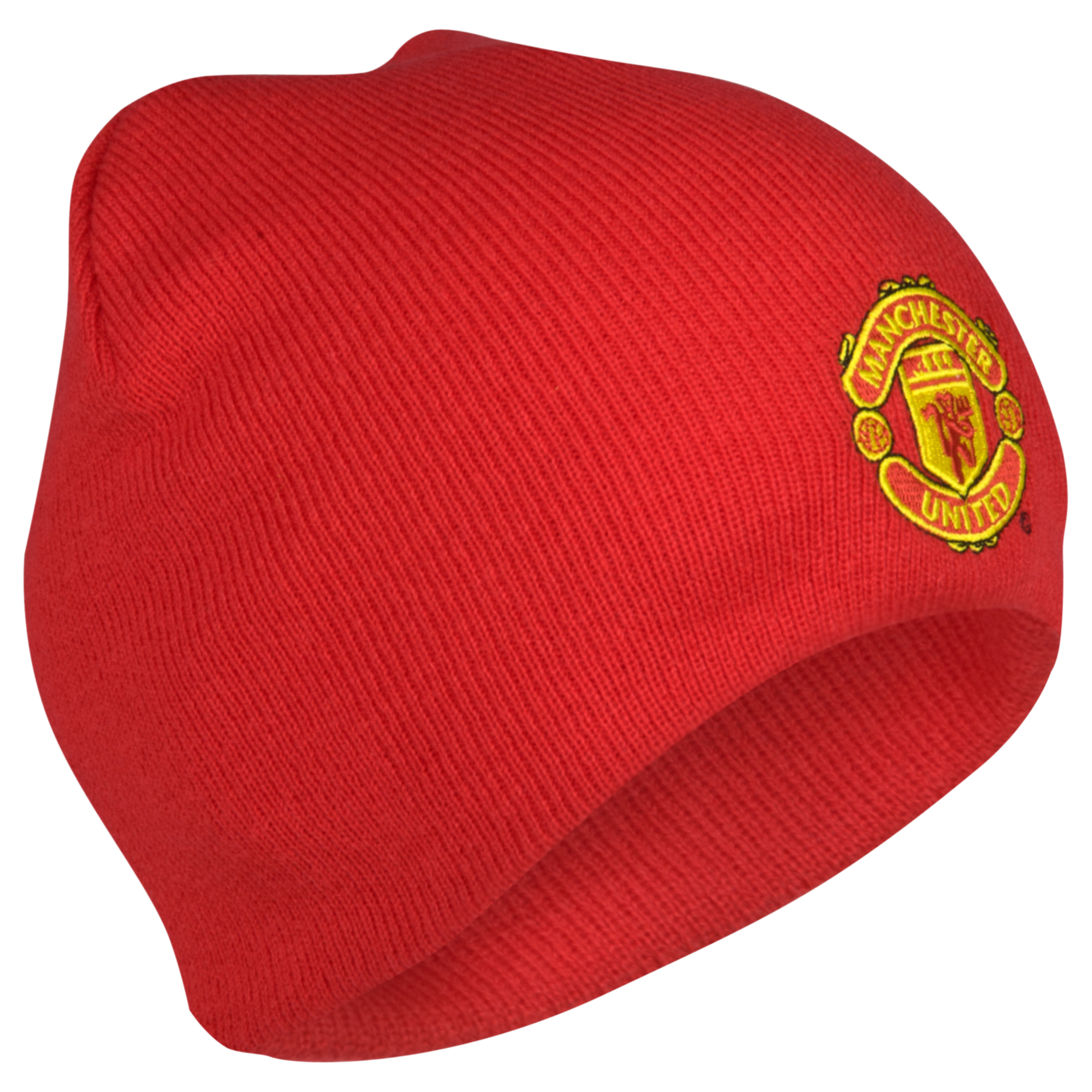 Manchester United Core Crest Beanie - Red - Mens