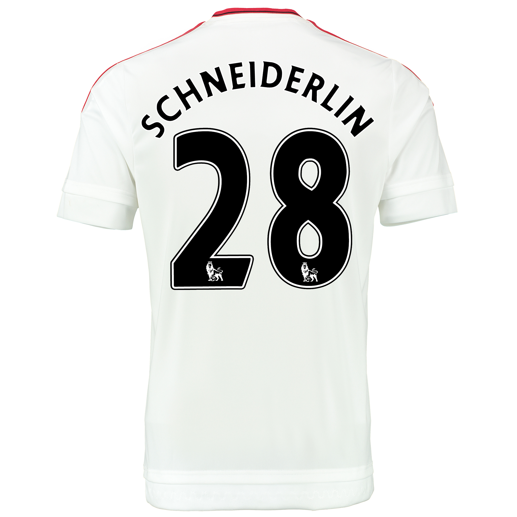 Manchester United Away Baby Kit 2015/16 White with Schneiderlin 28 pri