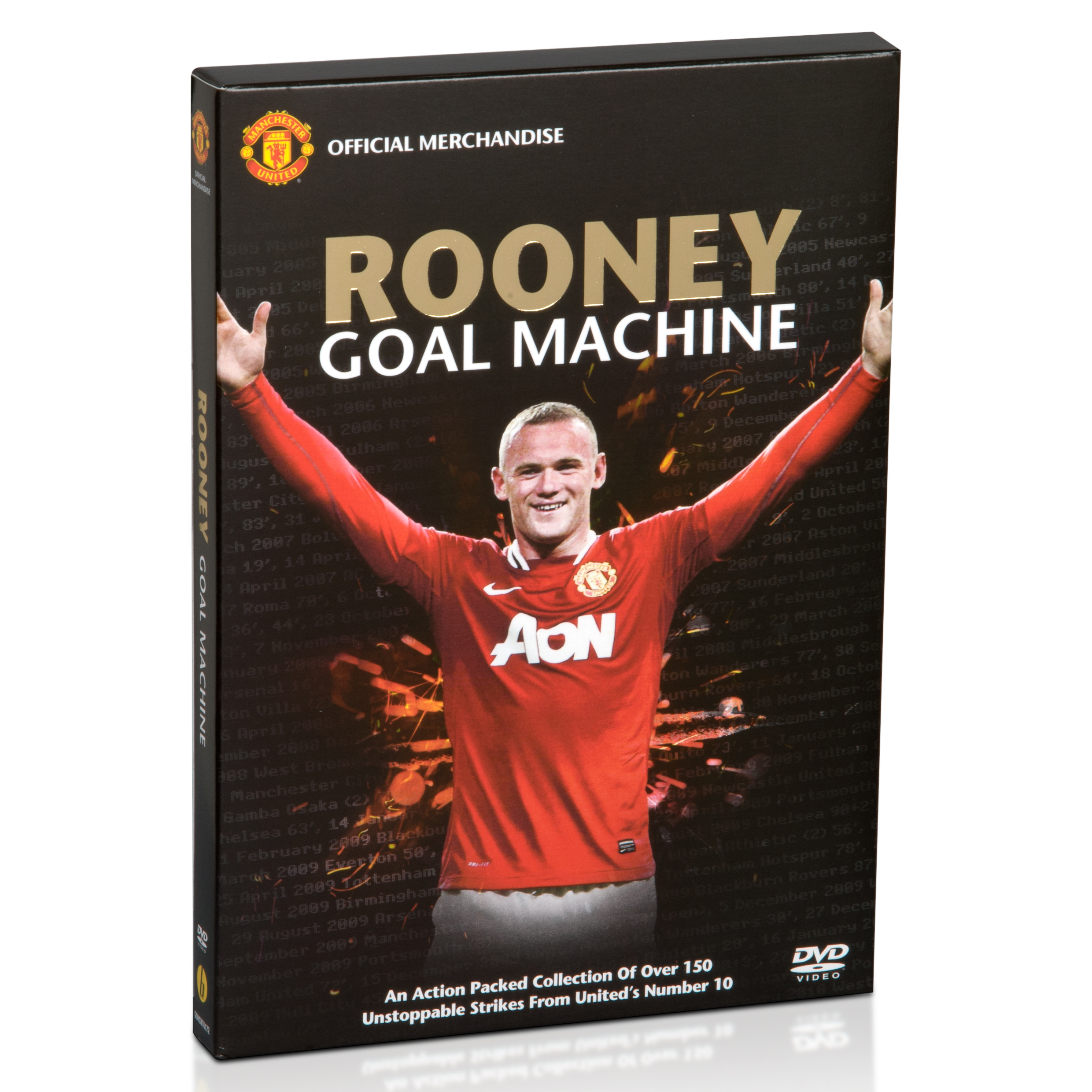 Manchester United Rooney Goal Machine - DVD - NTSC