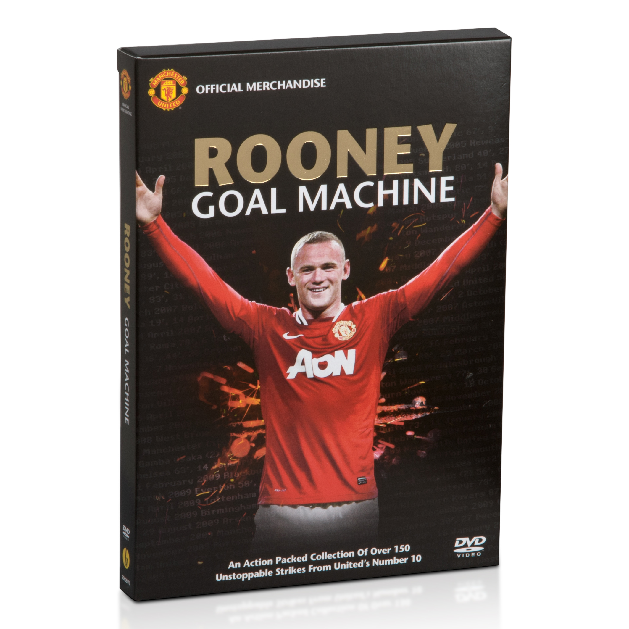 Manchester United Rooney Goal Machine - DVD - International PAL Version