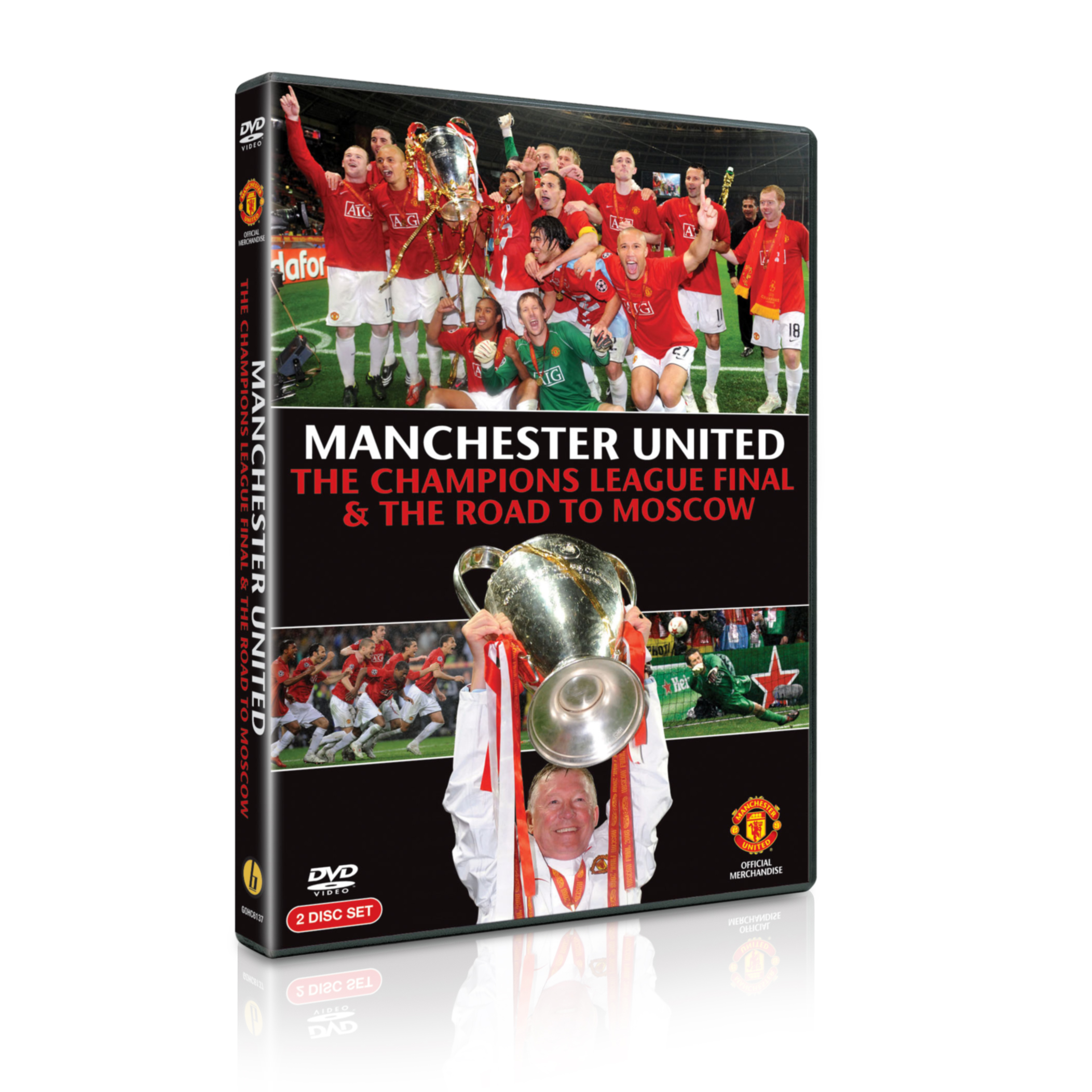 Manchester United 2008 Champions League Final and Road to Moscow - DVD - PAL