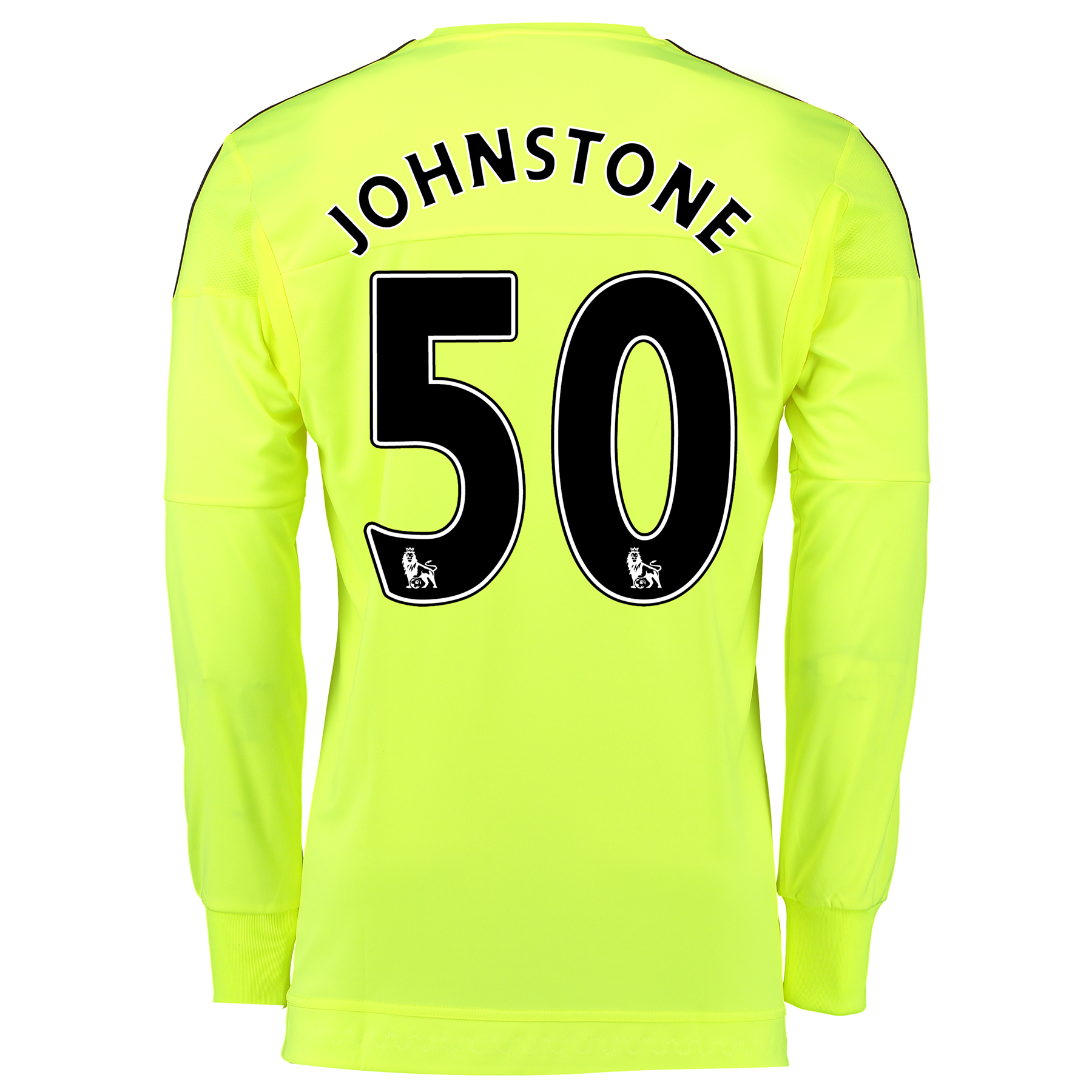 Manchester United Away Goalkeeper Shirt 2015/16 - Kids Yellow with Joh