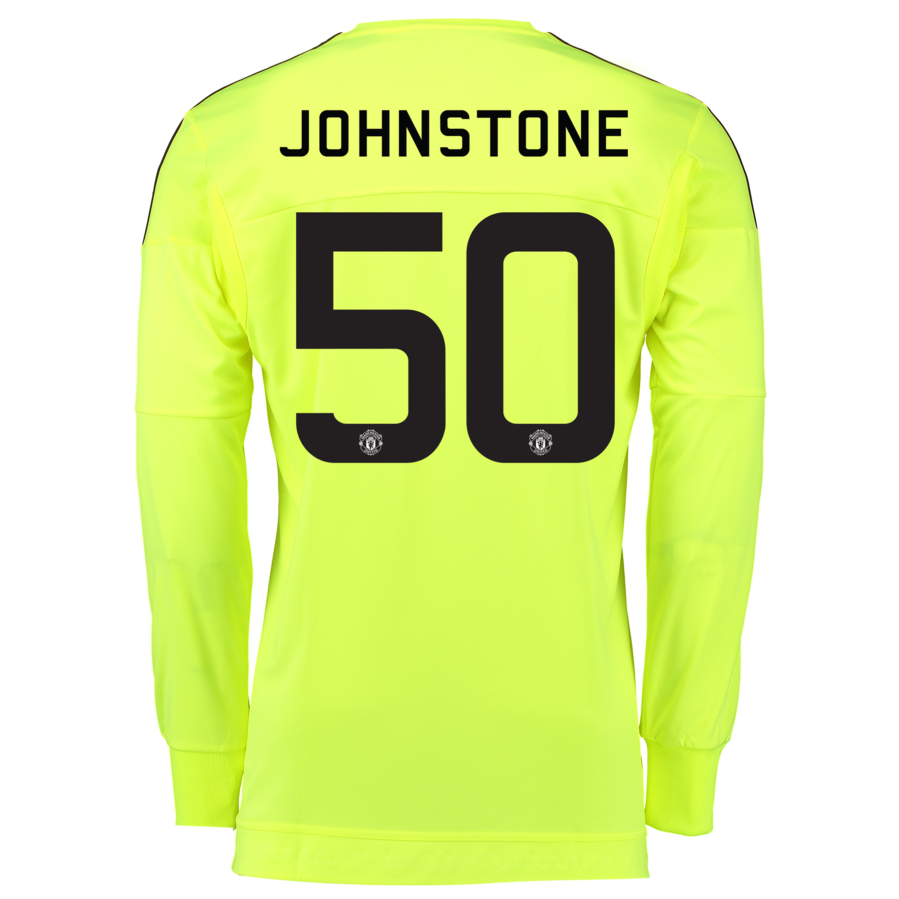 Manchester United Cup Away Goalkeeper Shirt 2015/16 - Kids Yellow with