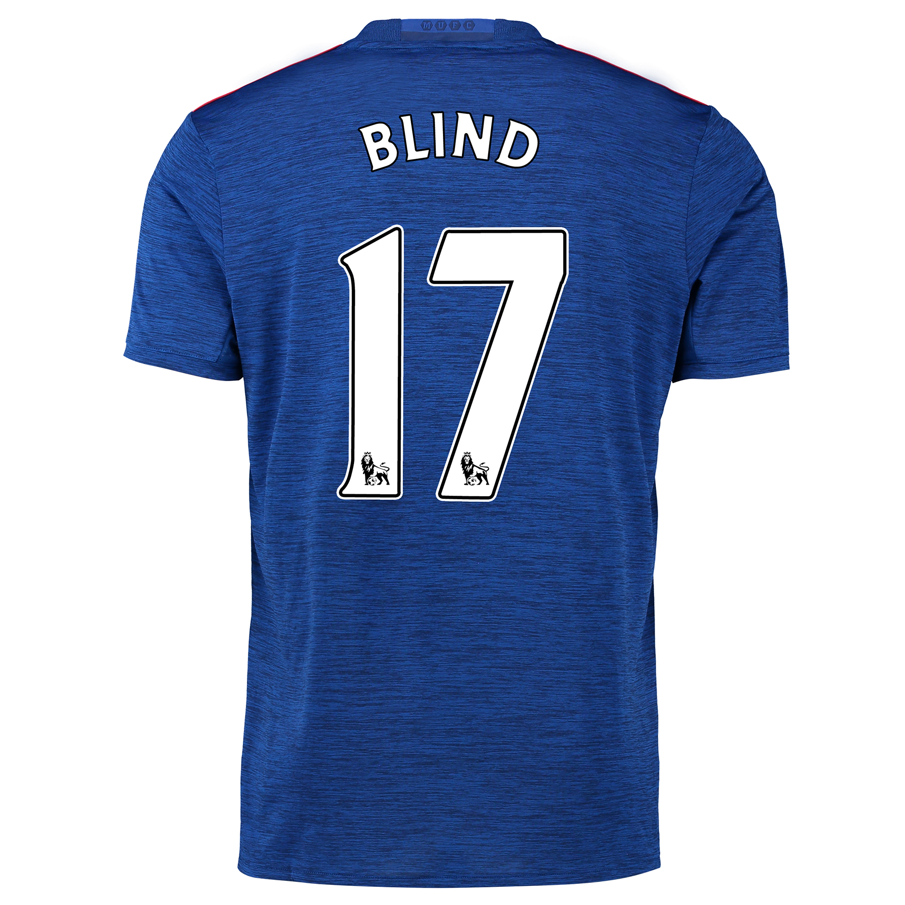 Manchester United Away Shirt 2016-17 with Blind 17 printing