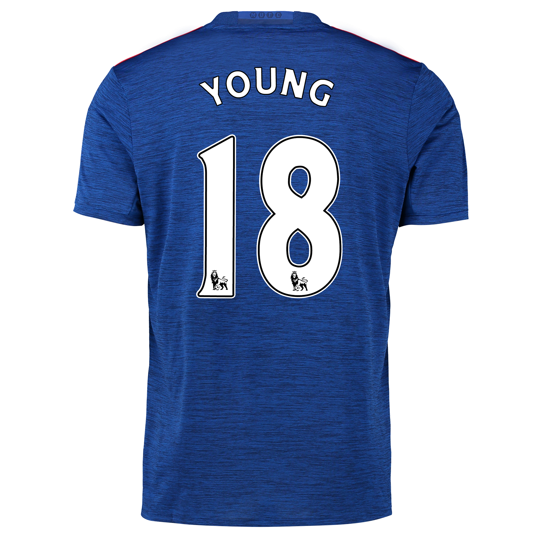 Manchester United Away Shirt 2016-17 with Young 18 printing