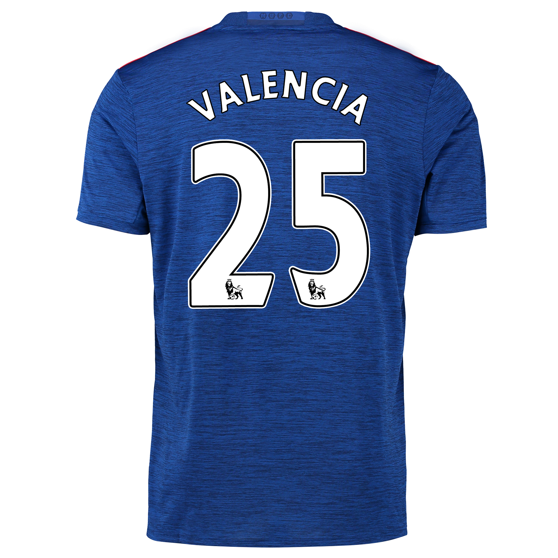 Manchester United Away Shirt 2016-17 with Valencia 25 printing