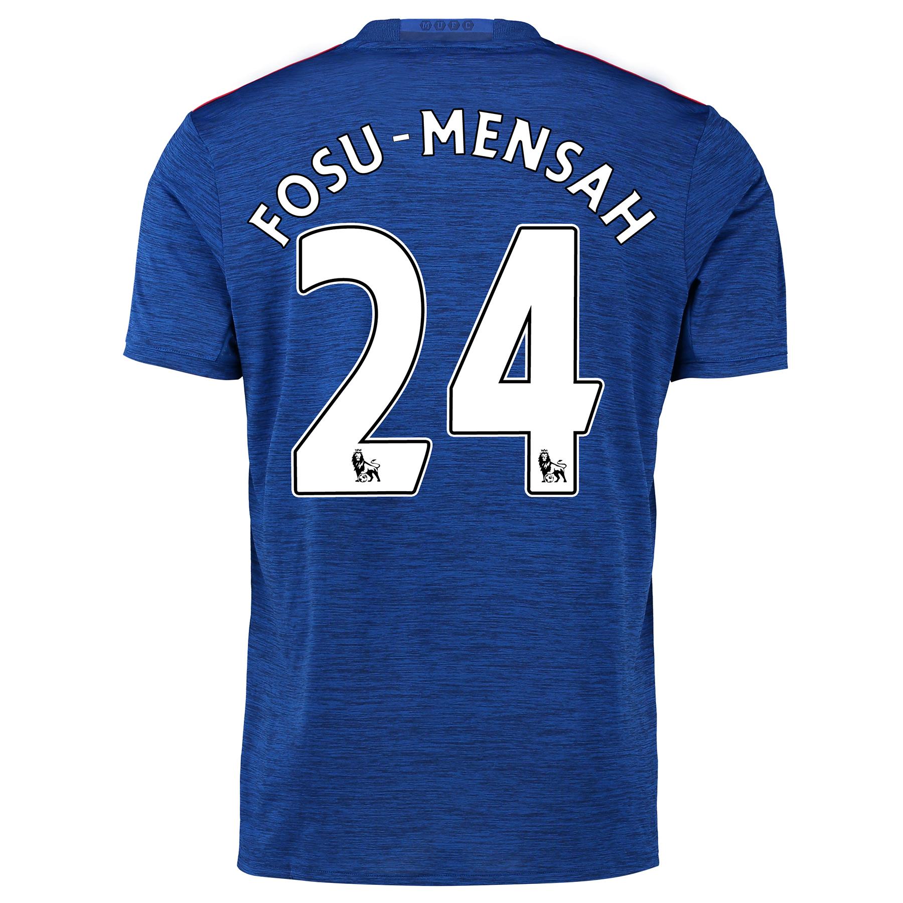 Manchester United Away Shirt 2016-17 with Fosu-Mensah 24 printing