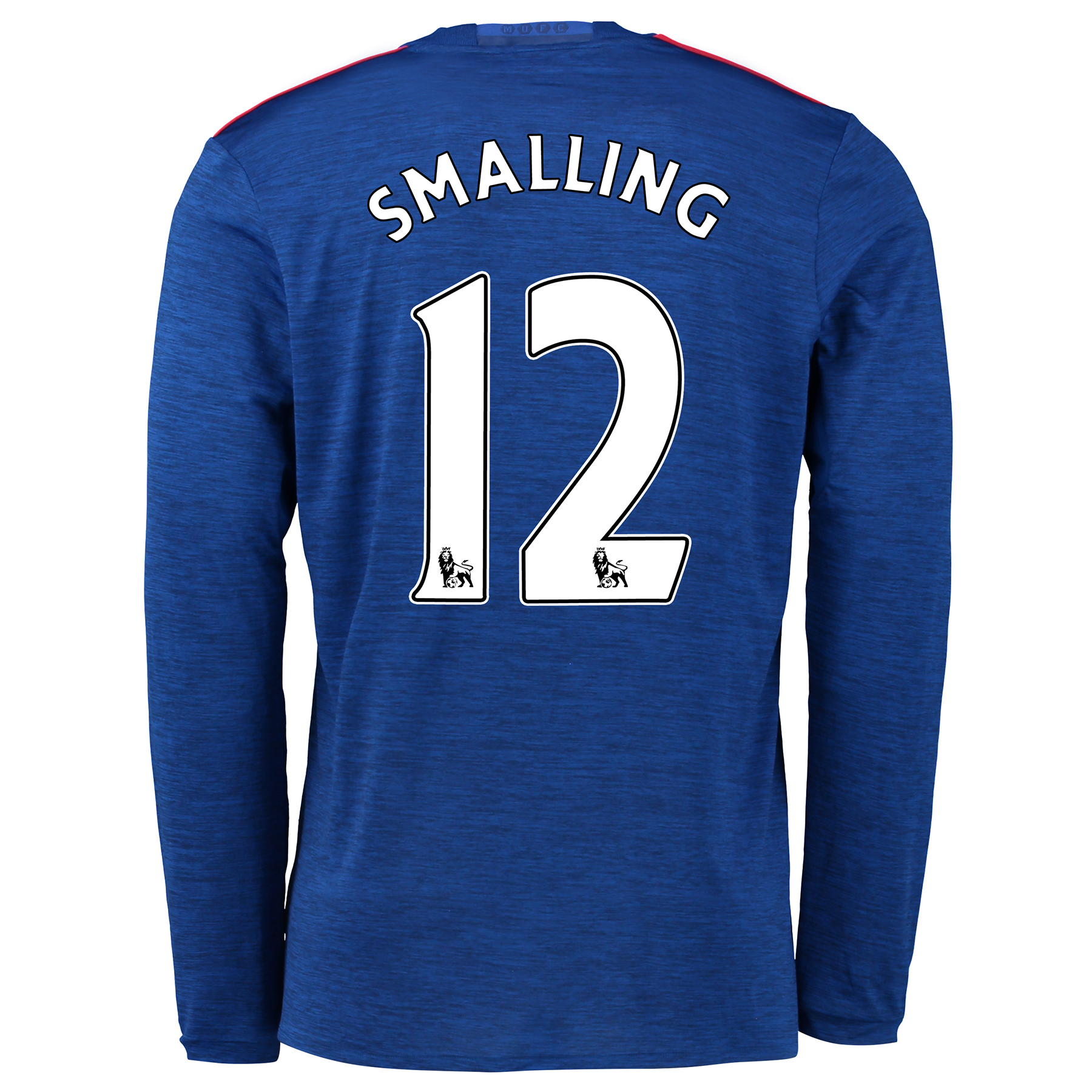 Manchester United Away Shirt 2016-17 - Long Sleeve with Smalling 12 pr