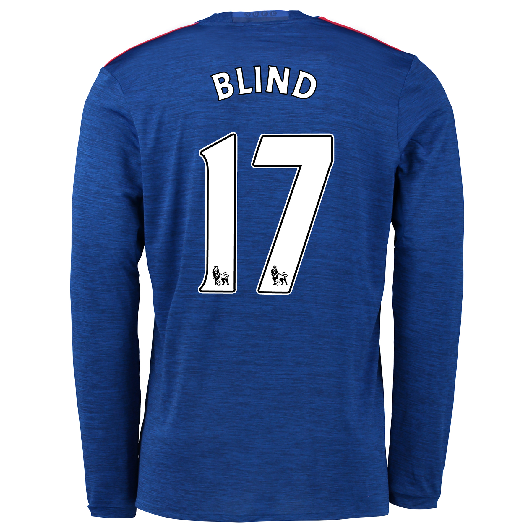 Manchester United Away Shirt 2016-17 - Long Sleeve with Blind 17 print